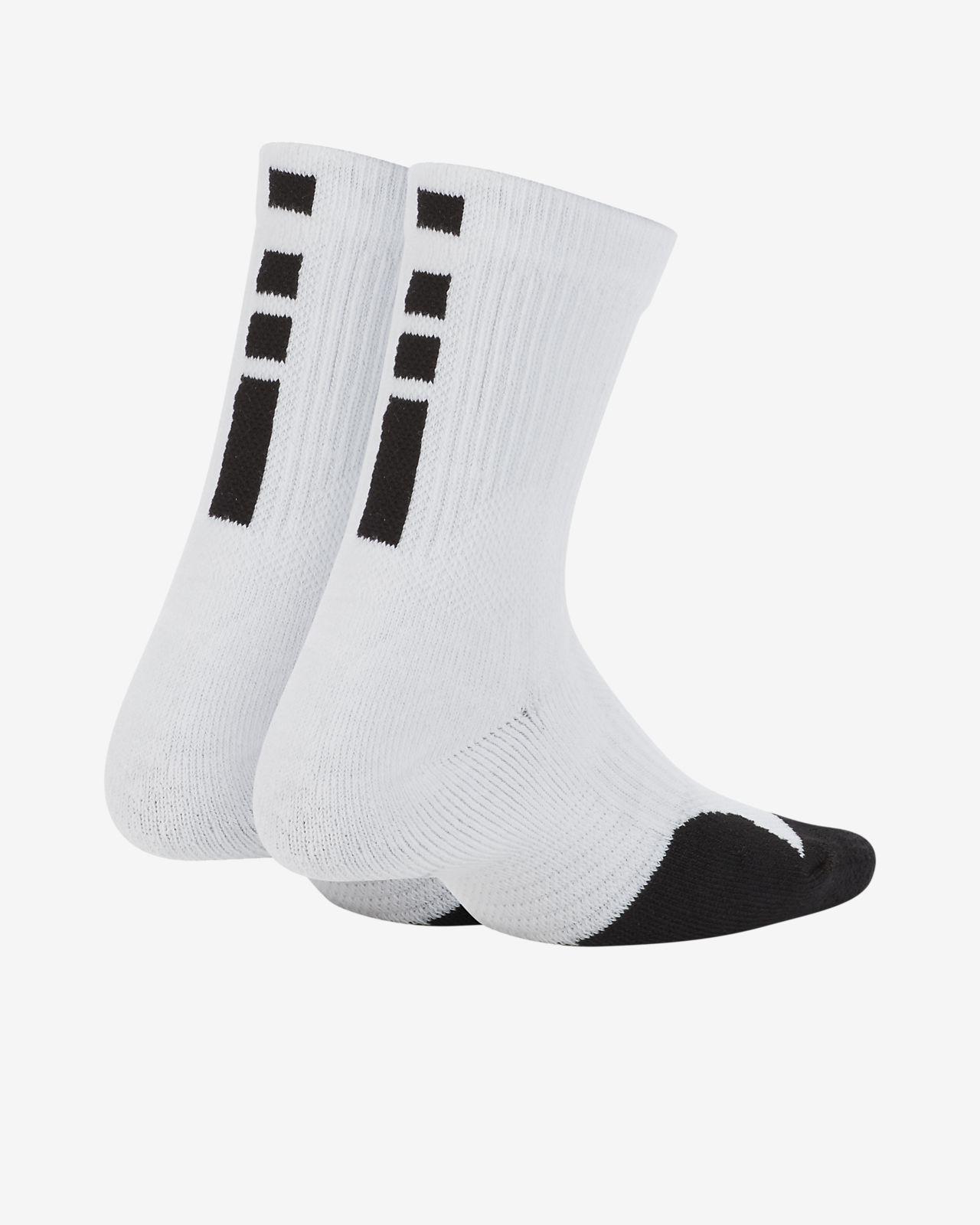 Nike Elite Little Kids' Crew Socks (2 Pairs)