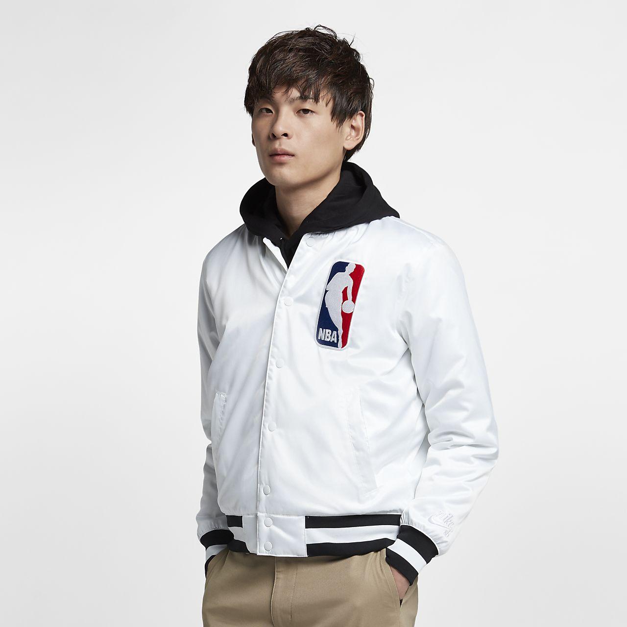 เสื้อแจ็คเก็ตบอมเบอร์ผู้ชาย Nike SB x NBA