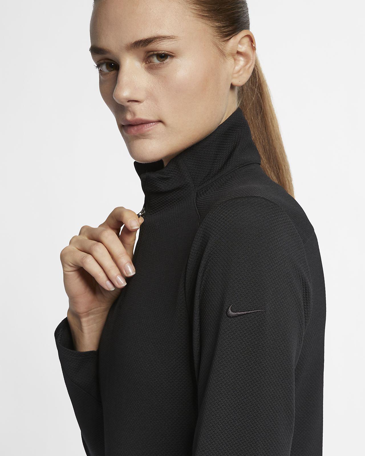nike 1/4 zip sweatshirt womens