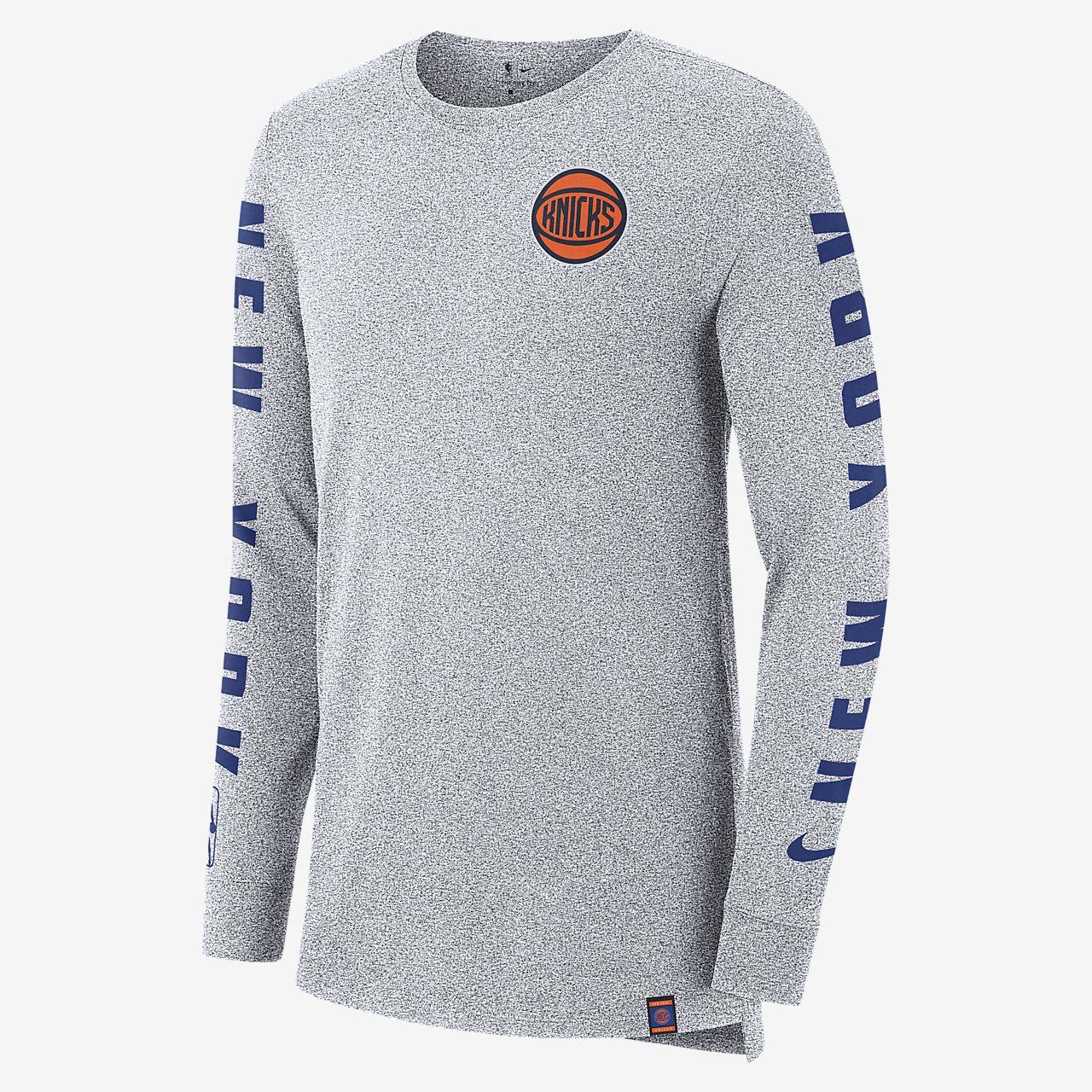 ニューヨーク ニックス シティ エディション ナイキ メンズ ロングスリーブ NBA Tシャツ