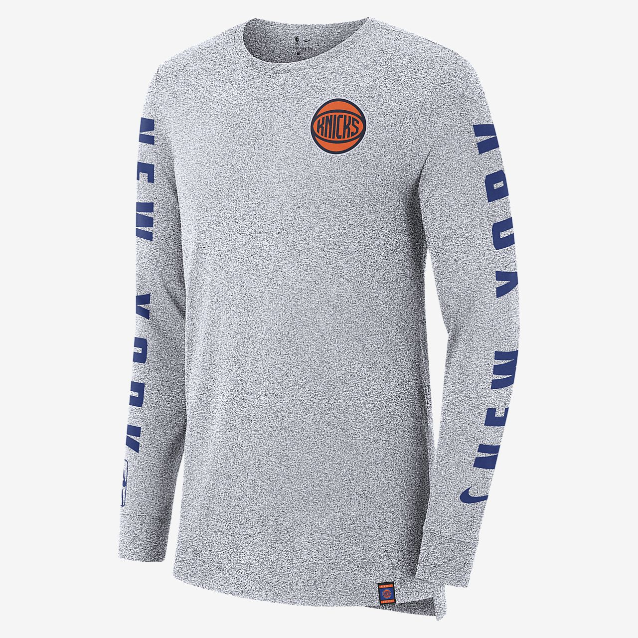 New York Knicks City Edition Nike 男款長袖 NBA T 恤