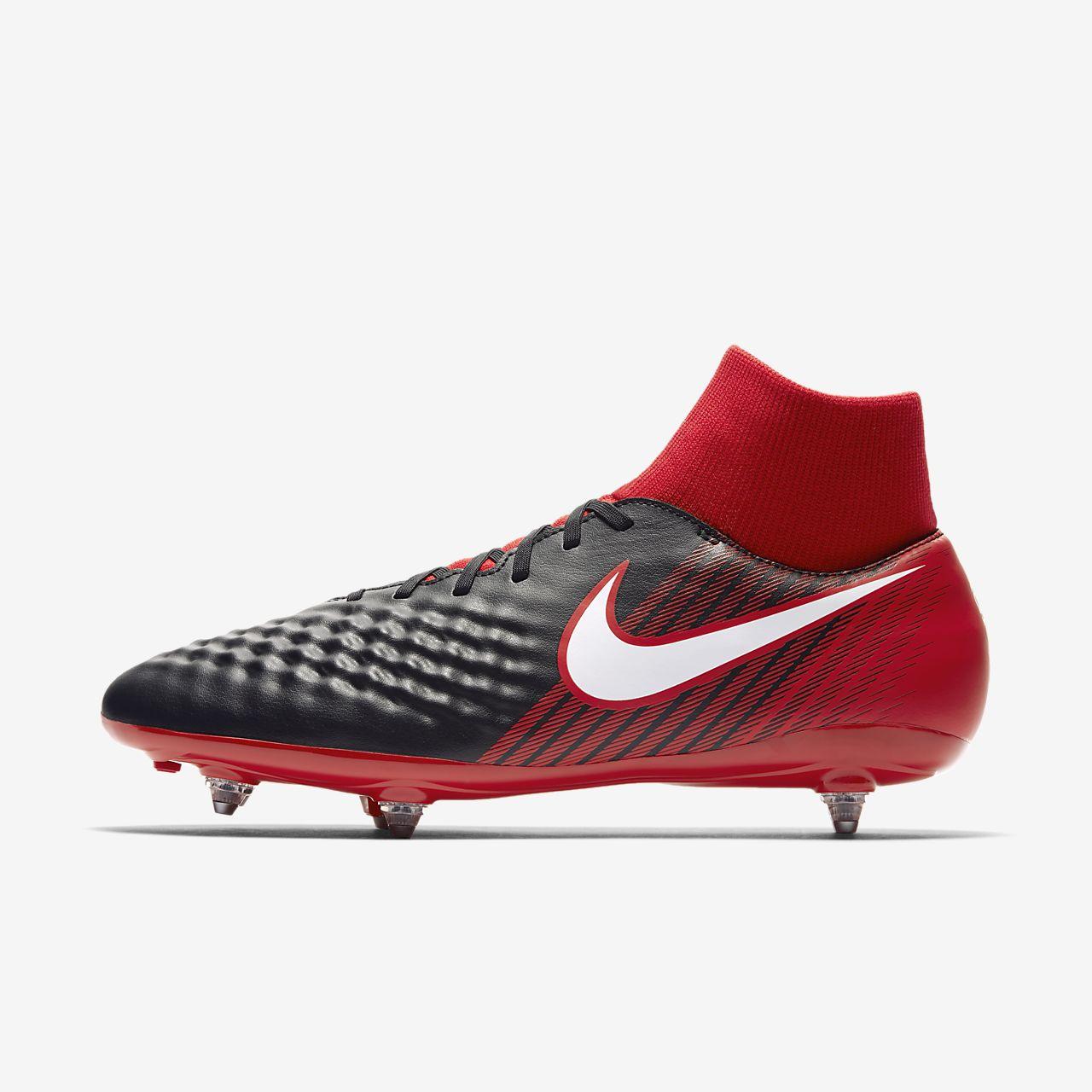 Nike Magista Onda II Dynamic Fit SG Black University Red Bright Crimson White 917789061