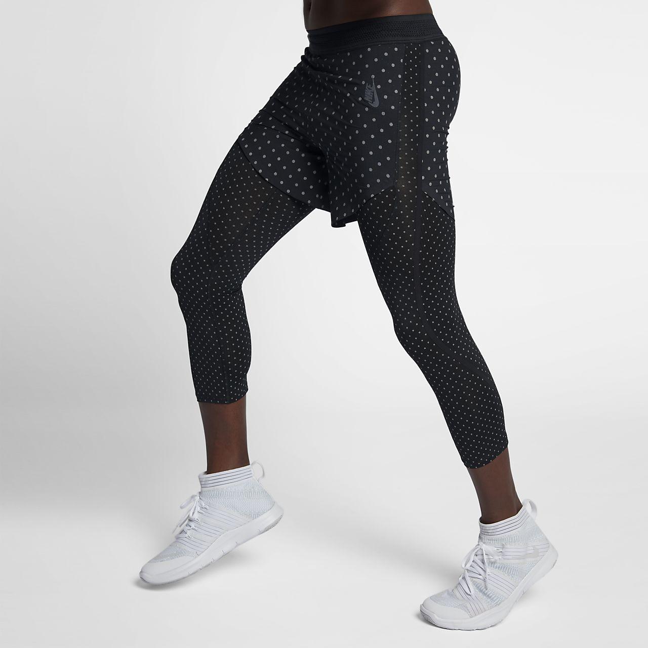 ... NikeLab Essentials Training All-Over Print Men's Hybrid Shorts