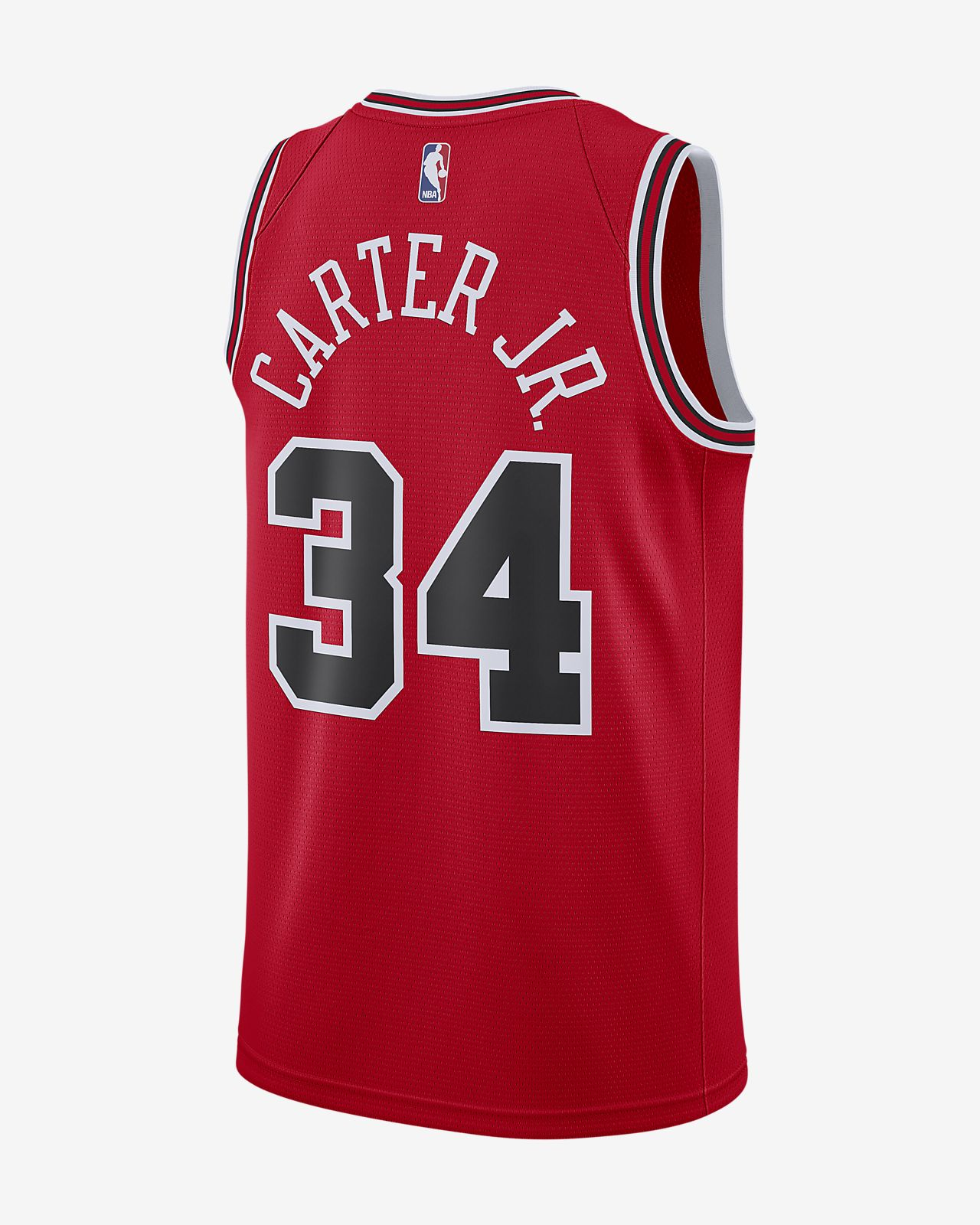 d0dc53e463c ... Wendell Carter Icon Edition Swingman (Chicago Bulls) Men's Nike NBA  Connected Jersey