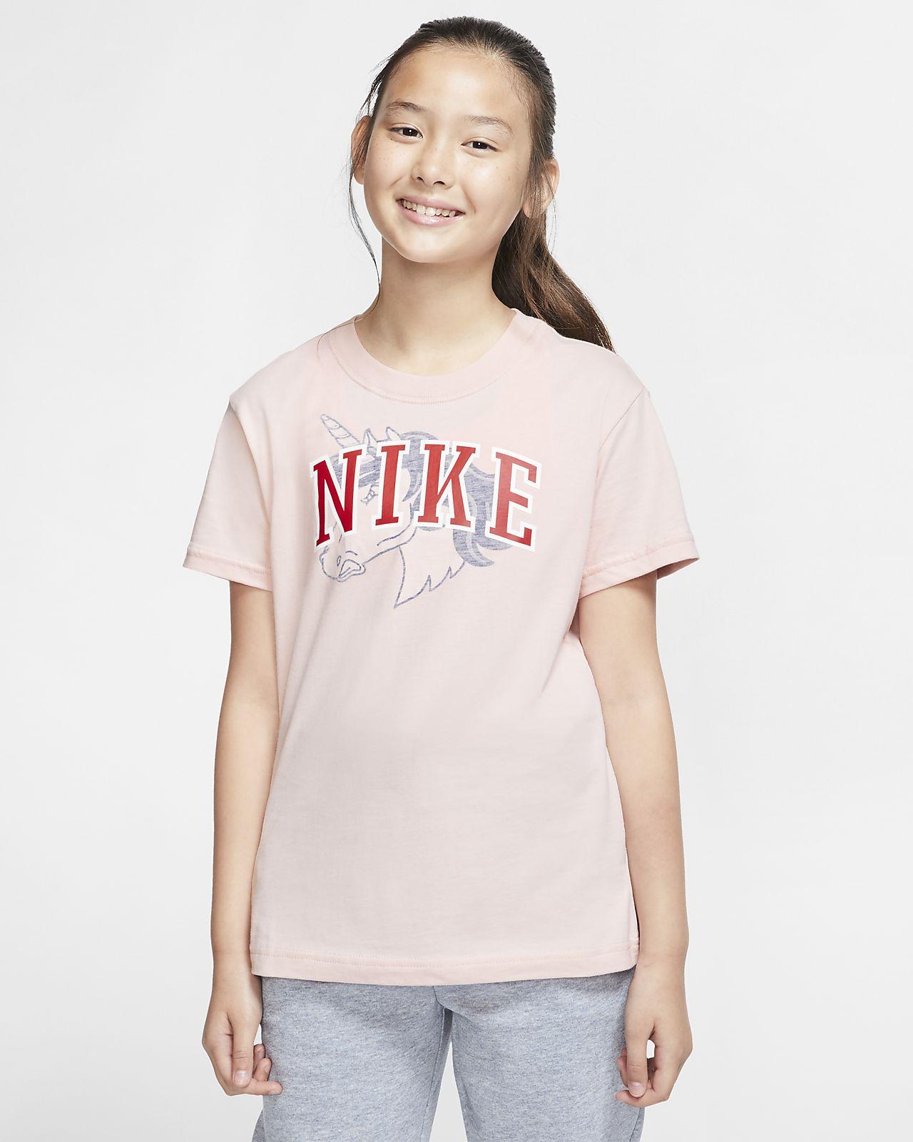 Nike Sportswear大童(女孩)T恤