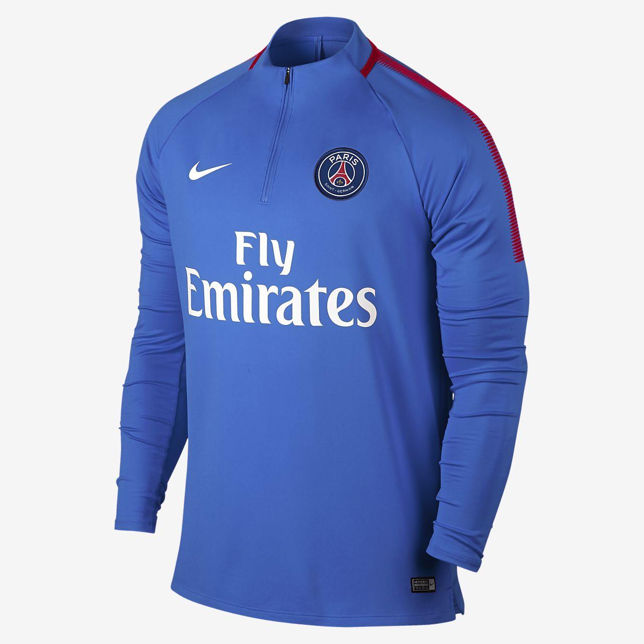 ... Paris Saint-Germain Dri-FIT Squad Drill Men's Football Top