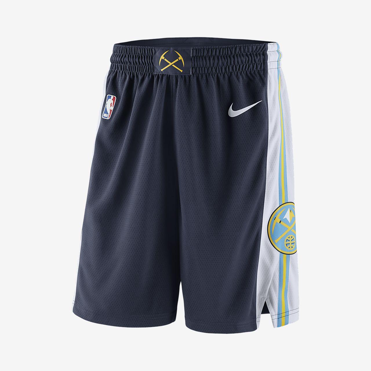 Denver Nuggets Nike Icon Edition Swingman Pantalón corto de la NBA - Hombre