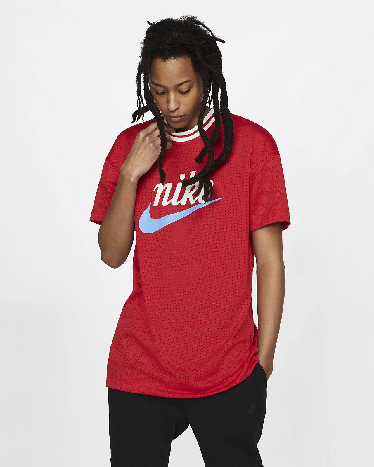 Nike Sportswear Men's Mesh Graphic Top