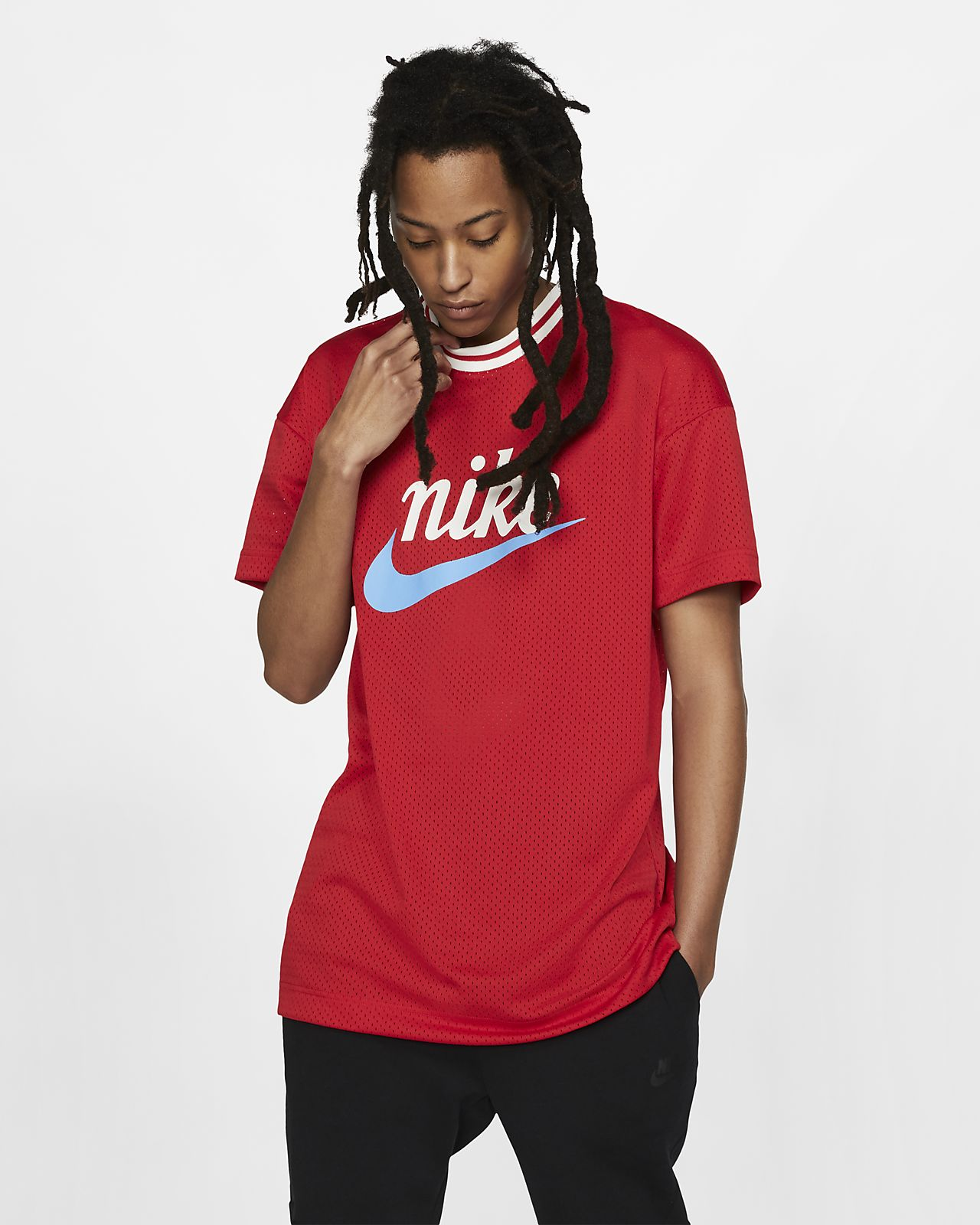 Nike Sportswear Men's Mesh Graphic Top