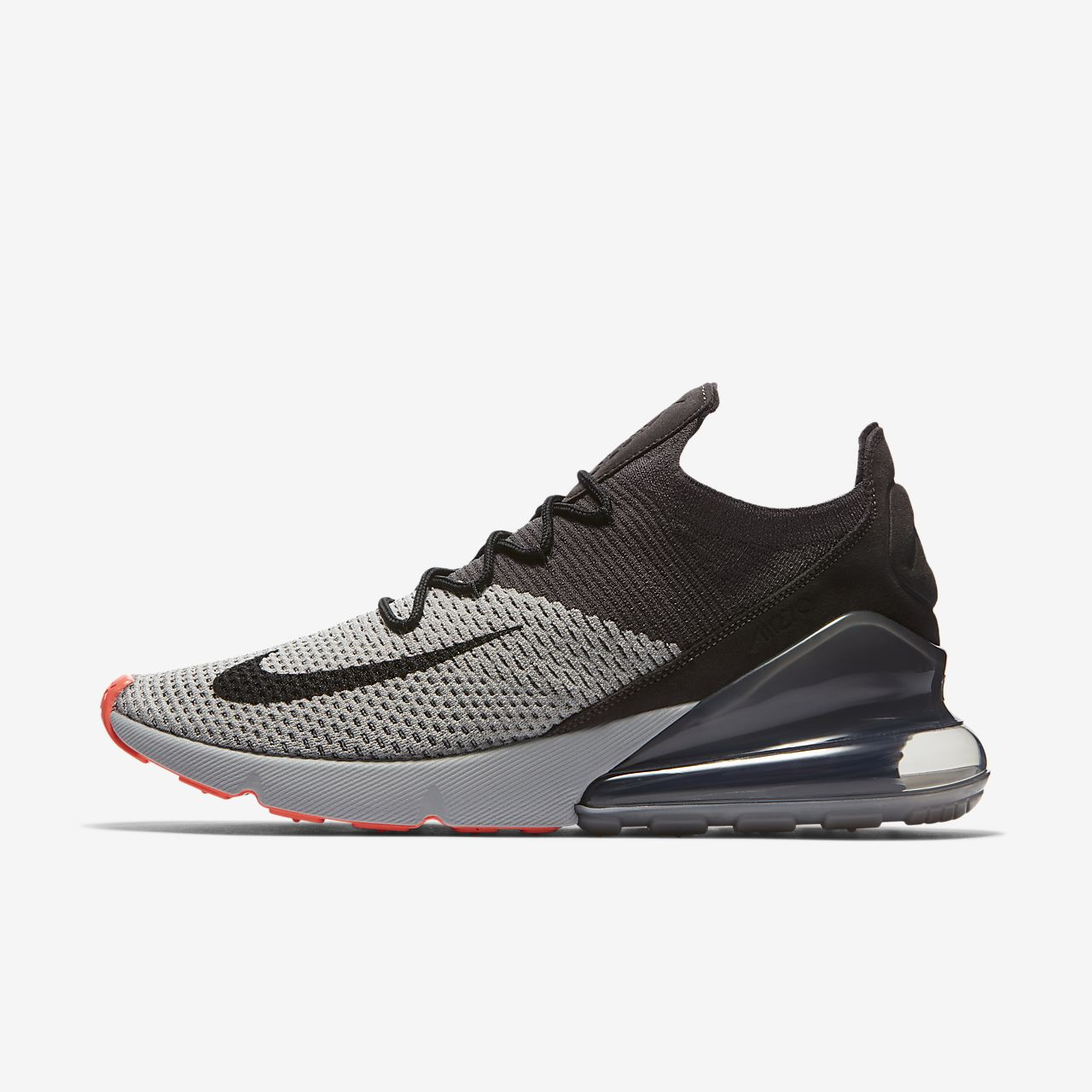 free shipping cd369 ab91c ... Nike Air Max 270 Flyknit Mens Shoe
