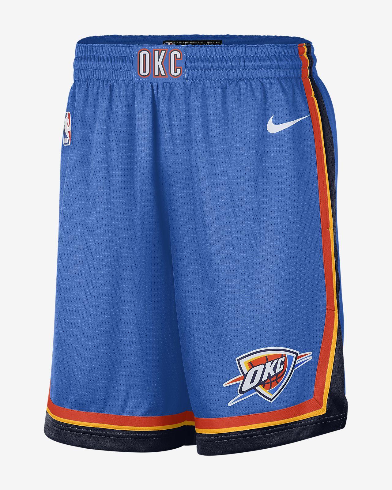 Oklahoma City Thunder Icon Edition Swingman Men's Nike NBA Shorts