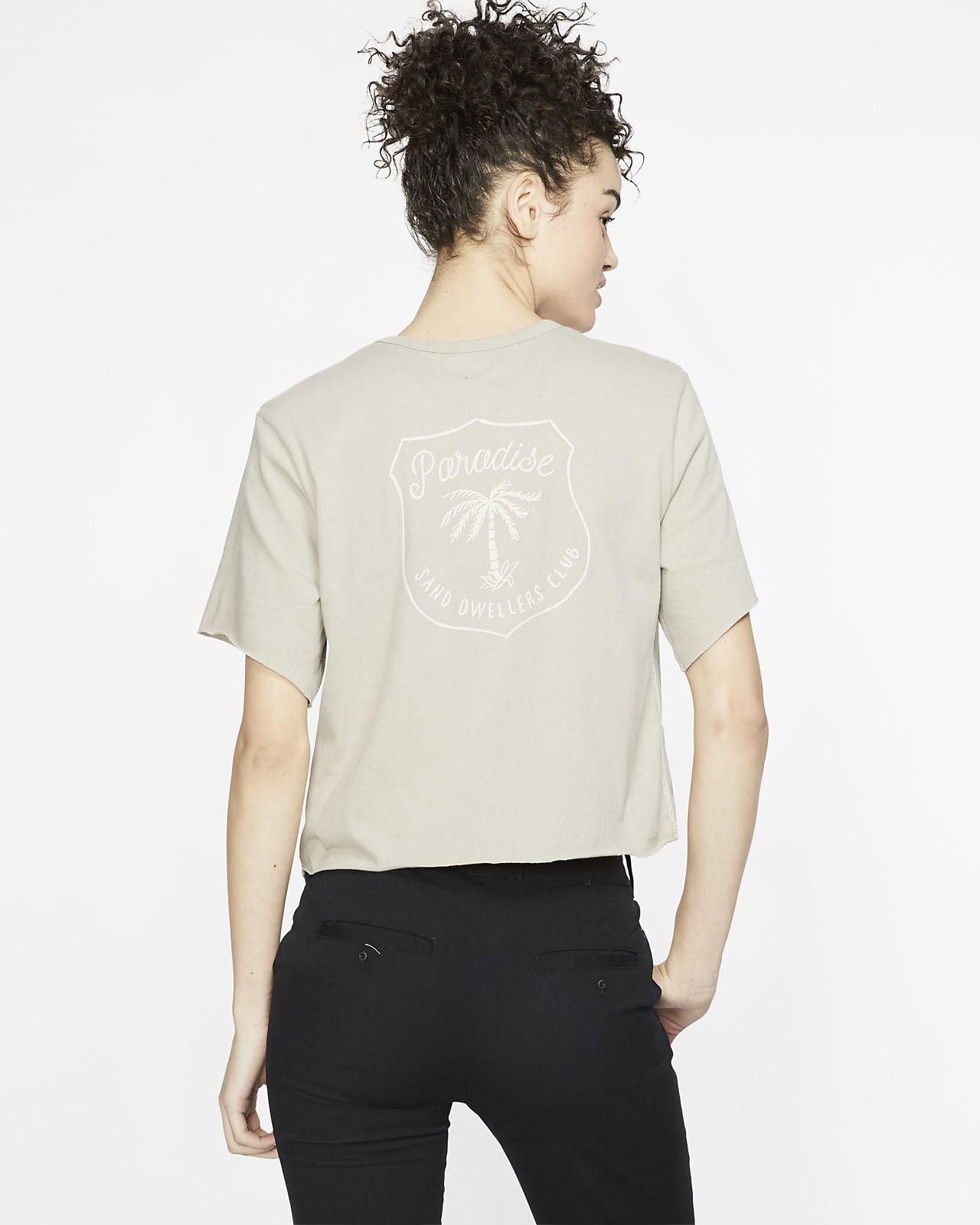 f956115d40238b Hurley Dwellers Pocket Women s Cropped T-Shirt. Nike.com ZA