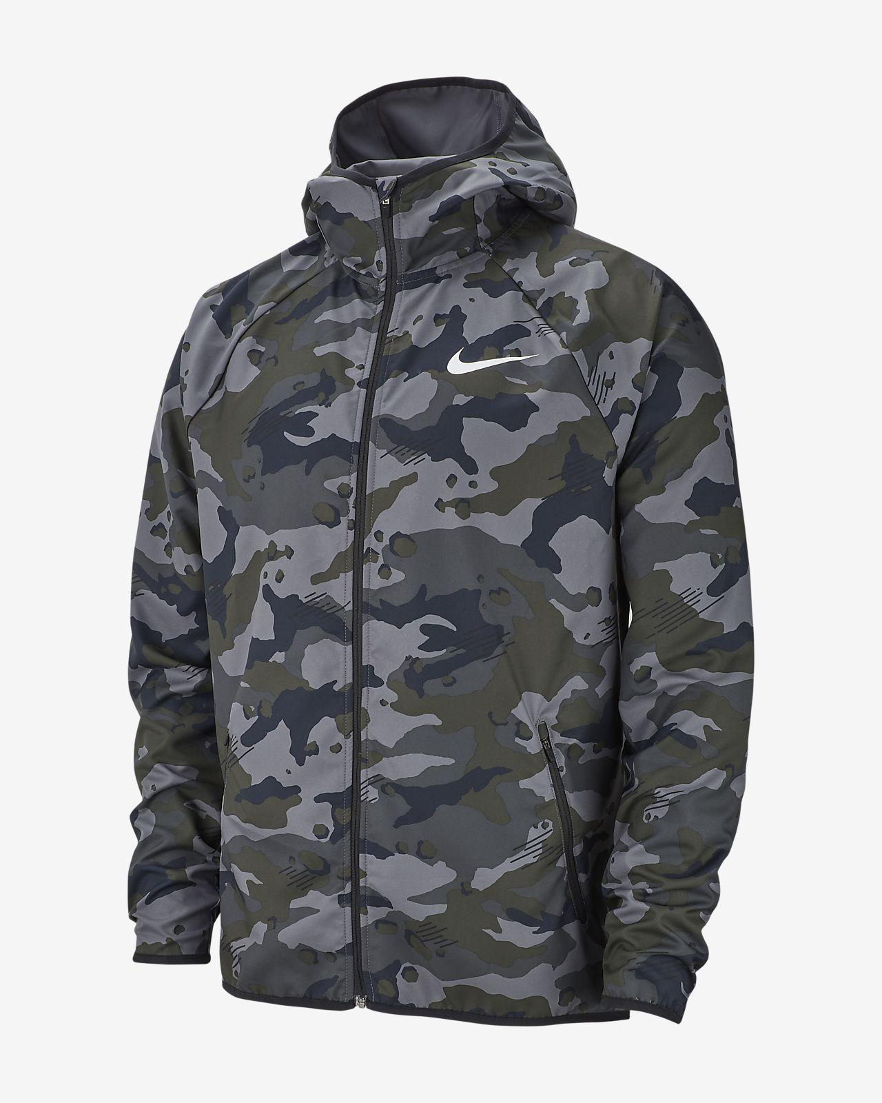 6aa41711591 Nike Dri-FIT Men s Woven Camo Training Jacket. Nike.com