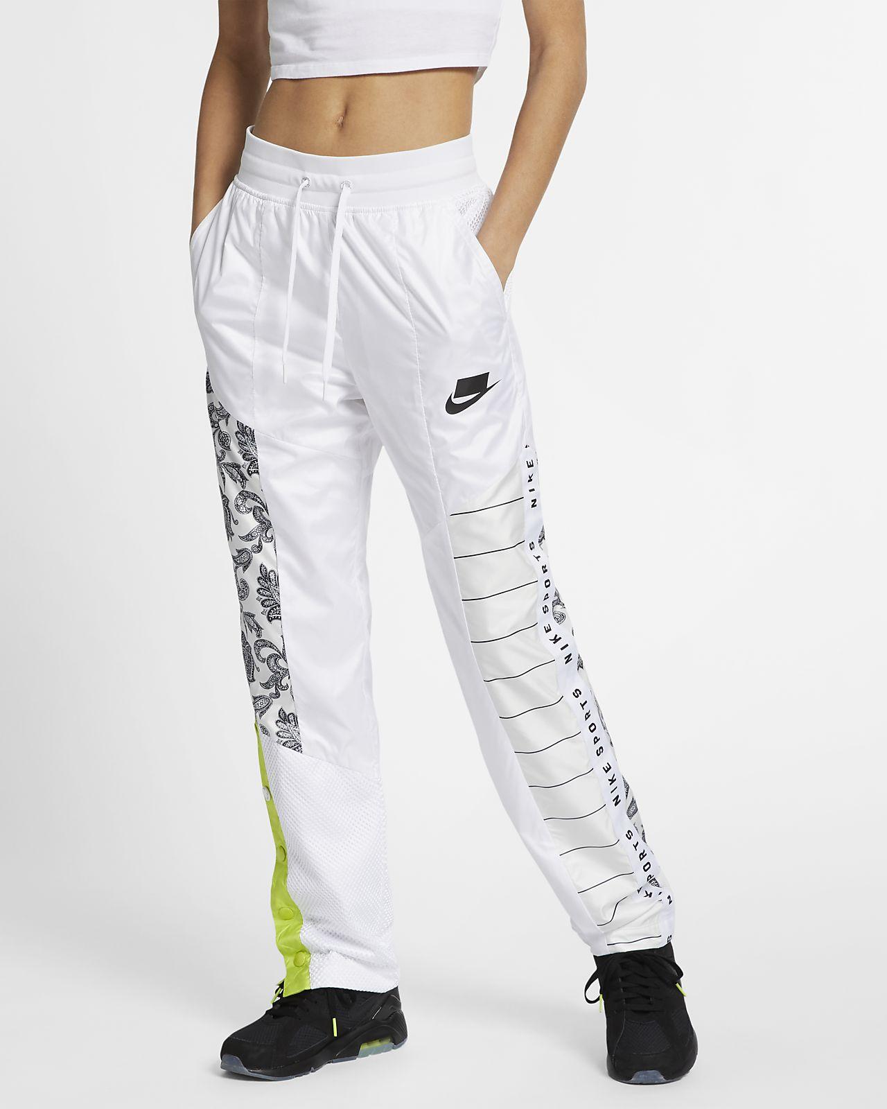 Venta caliente genuino pensamientos sobre gama exclusiva Pantalones de entrenamiento tejidos para mujer Nike Sportswear NSW