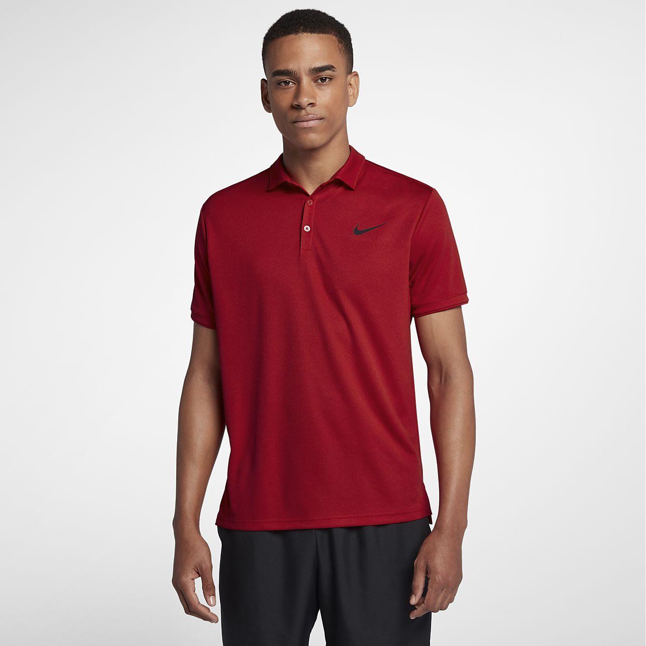 ... NikeCourt Dri-FIT Men's Tennis Polo