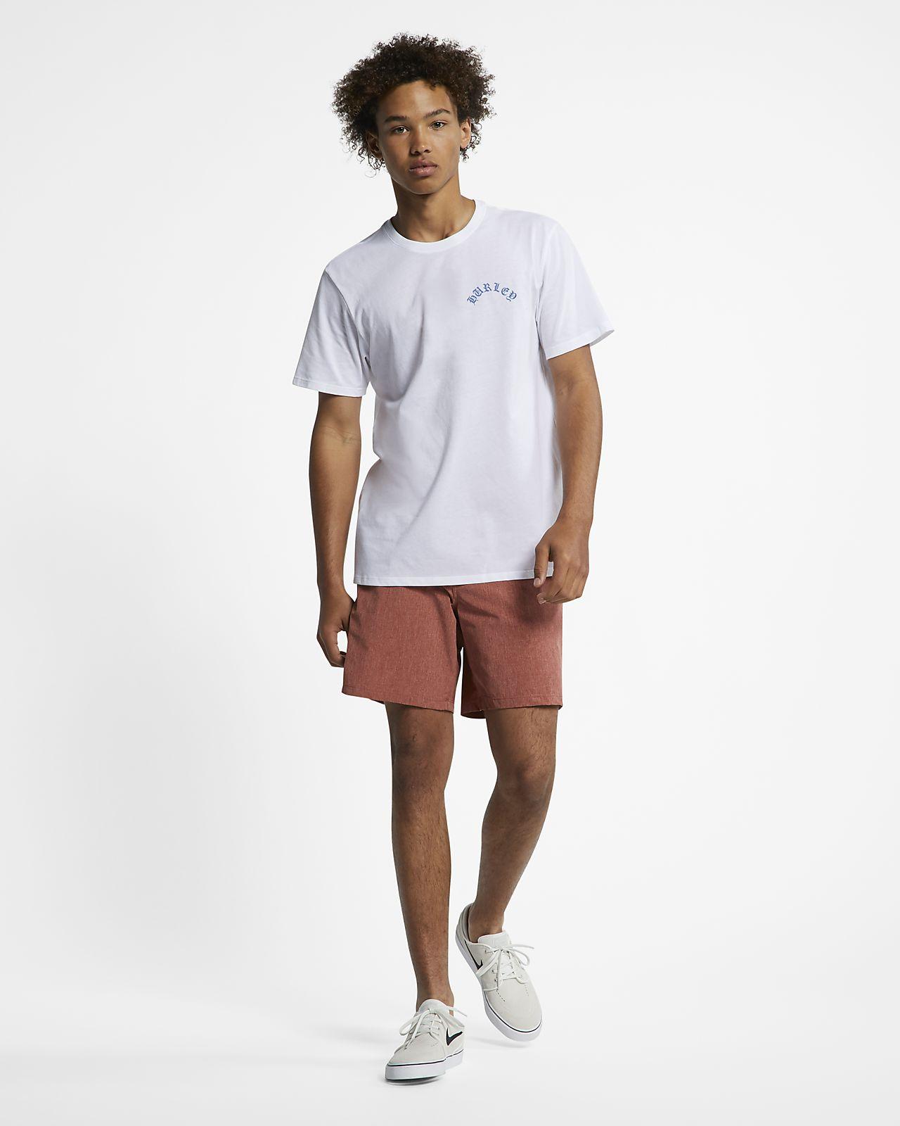 6599b305c Hurley Dri-FIT Pray For Waves Men's T-Shirt. Nike.com