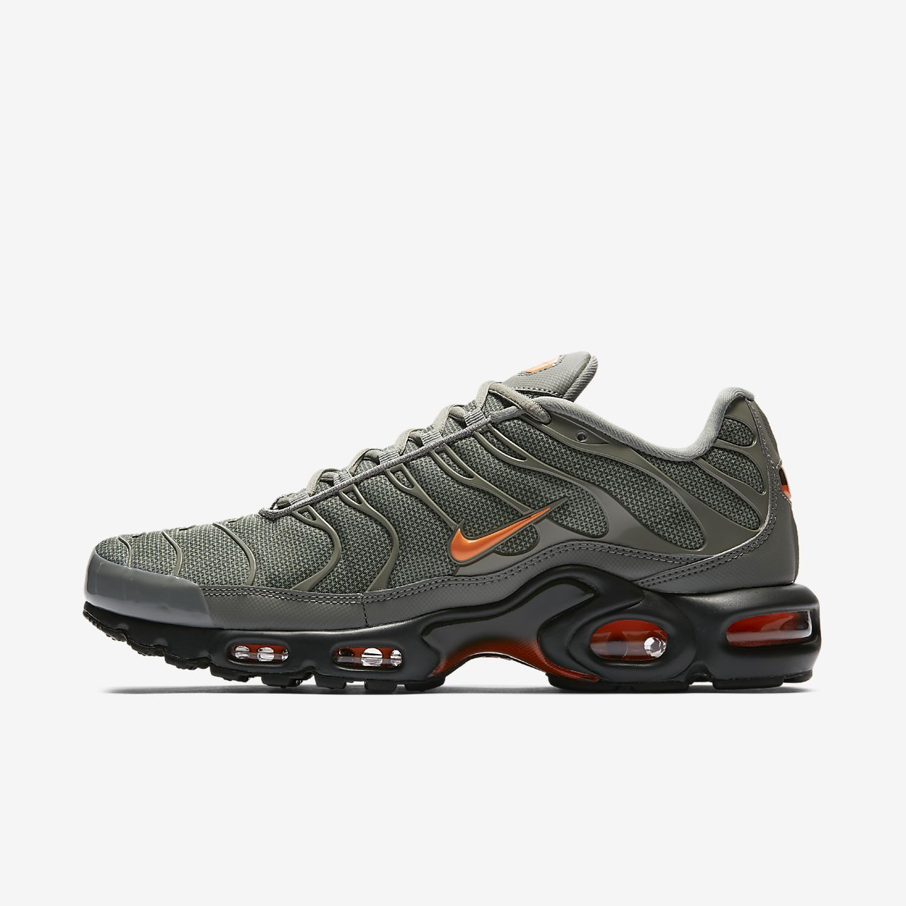 Nike Air Max Plus Jacquard Men's Lifestyle Shoes Black rG7406G