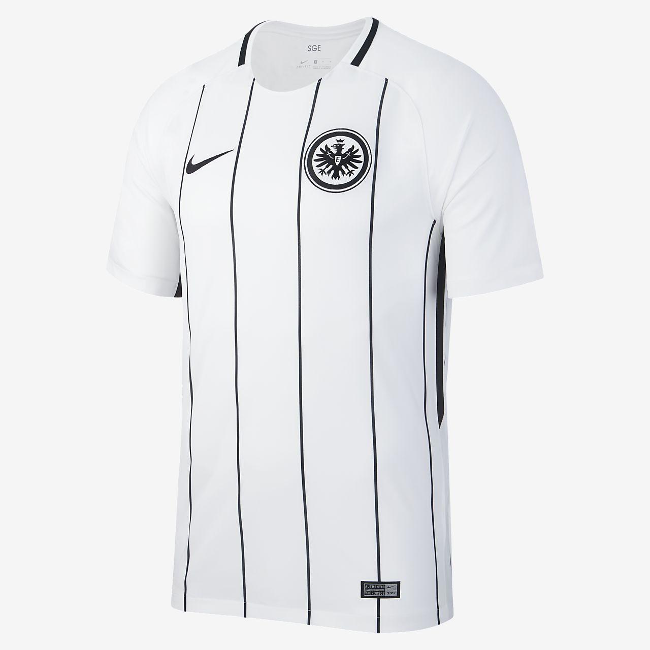 2017/18 Eintracht Frankfurt Stadium Home Men's Football Shirt