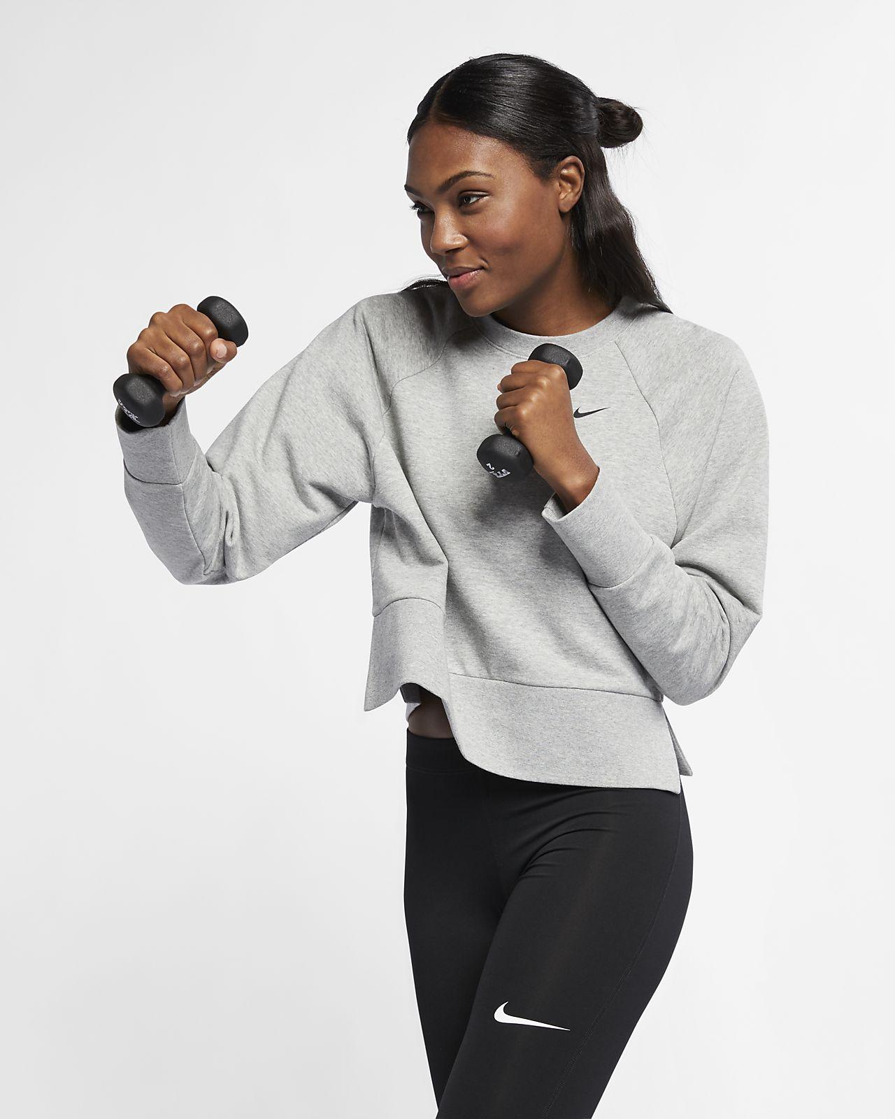 9bf574c031be6 Nike Dri-FIT Women s Long-Sleeve Training Top. Nike.com HR
