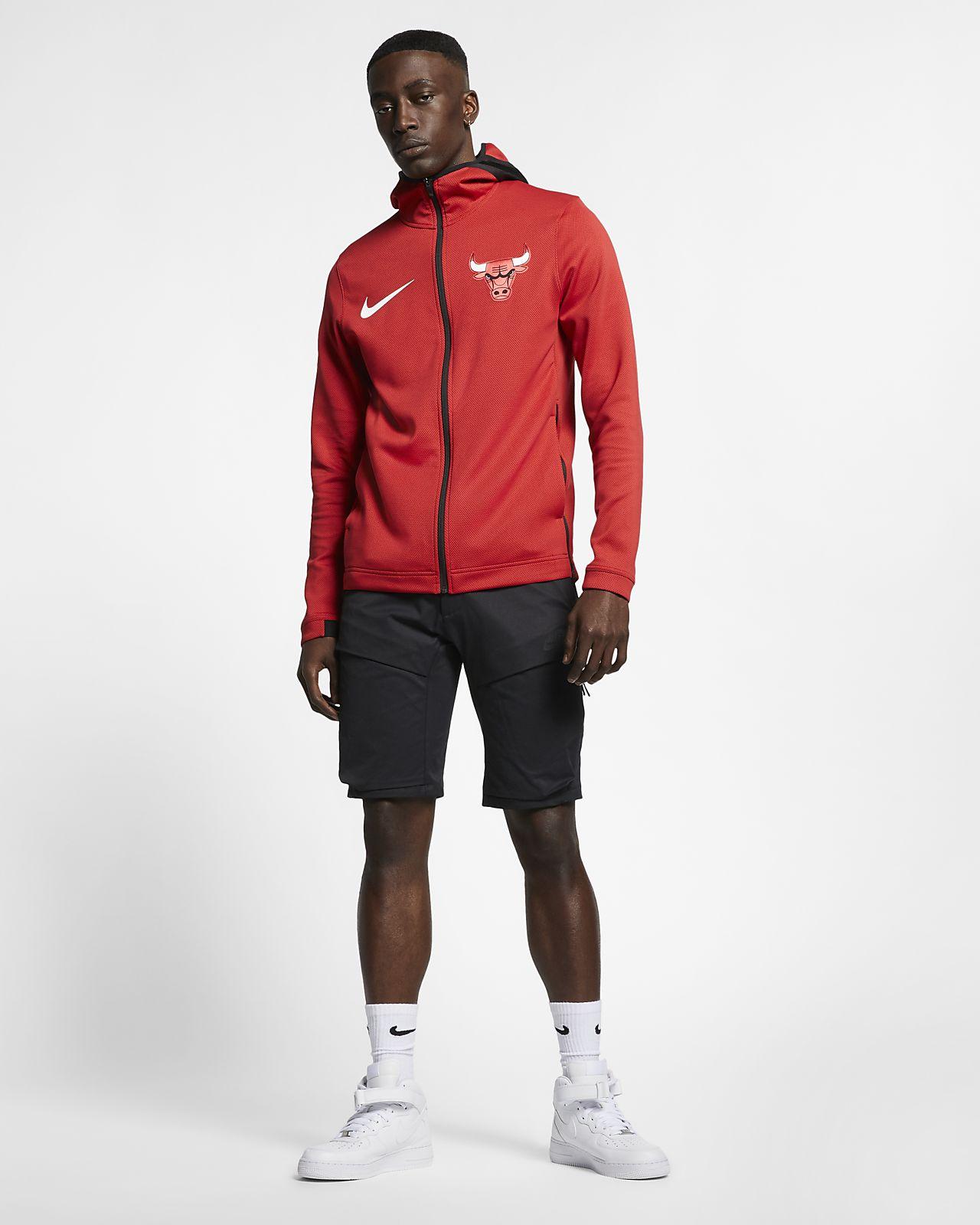 3f808c4870042 Chicago Bulls Nike Therma Flex Showtime Men's NBA Hoodie. Nike.com
