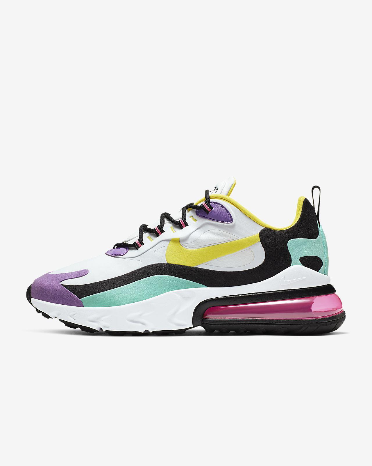 รองเท้าผู้ชาย Nike Air Max 270 React (Geometric Art)