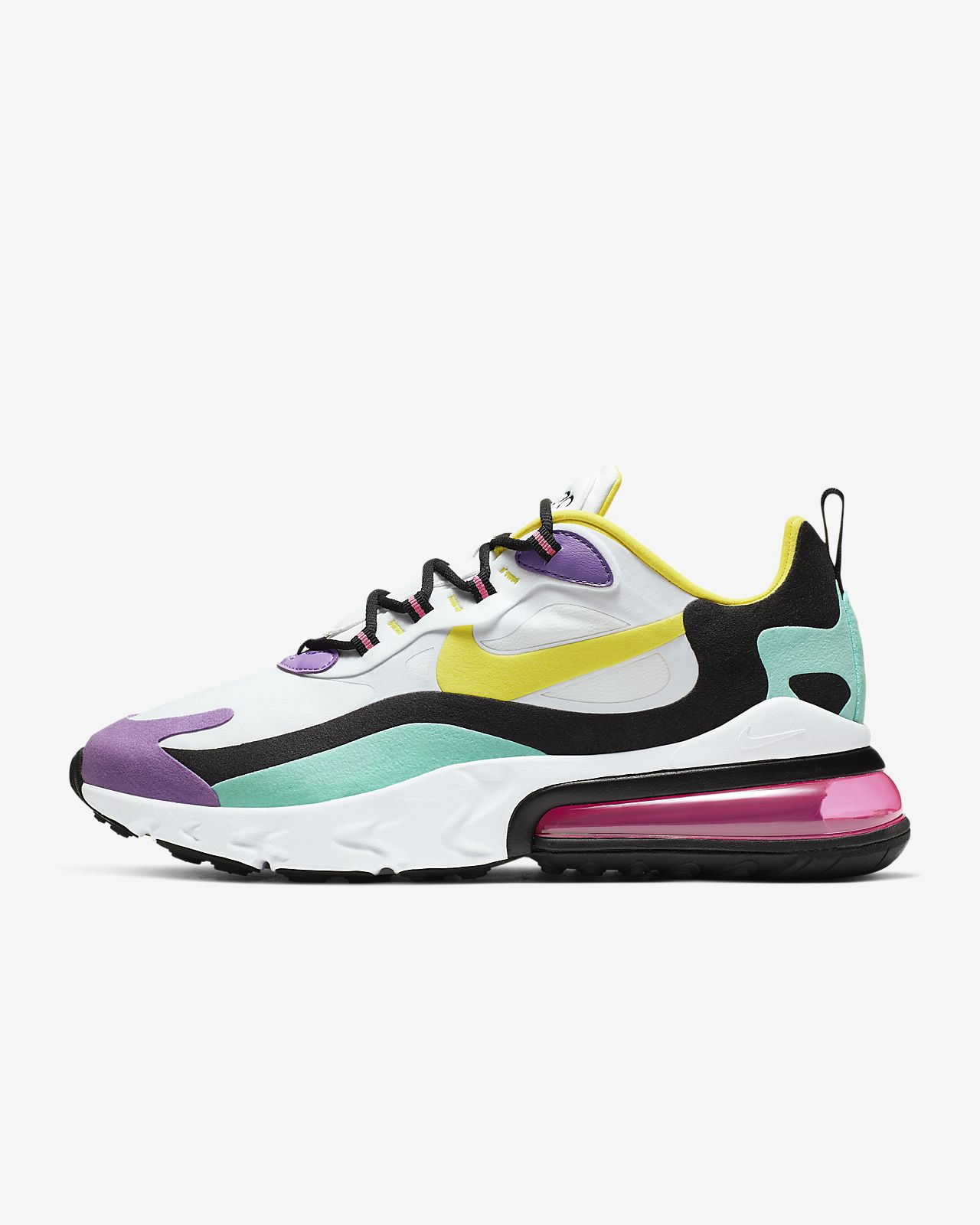 Nike Air Max 270 React (Geometric Abstract) Herenschoen