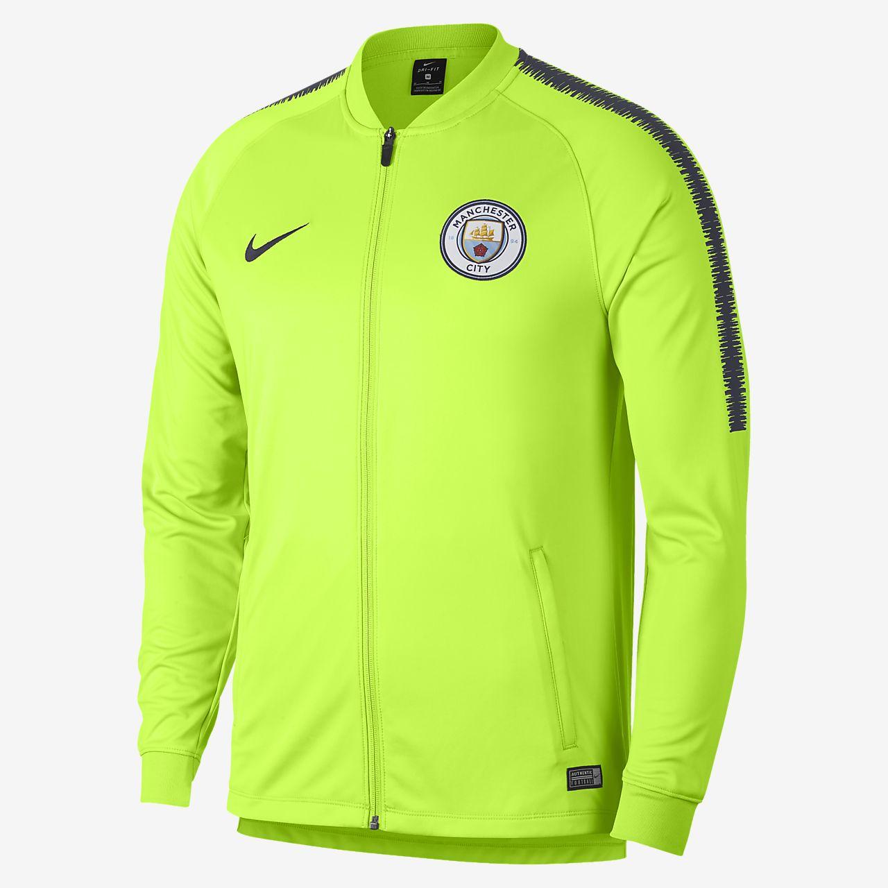 Casaco de futebol Nike Dri-FIT Manchester City Squad para homem