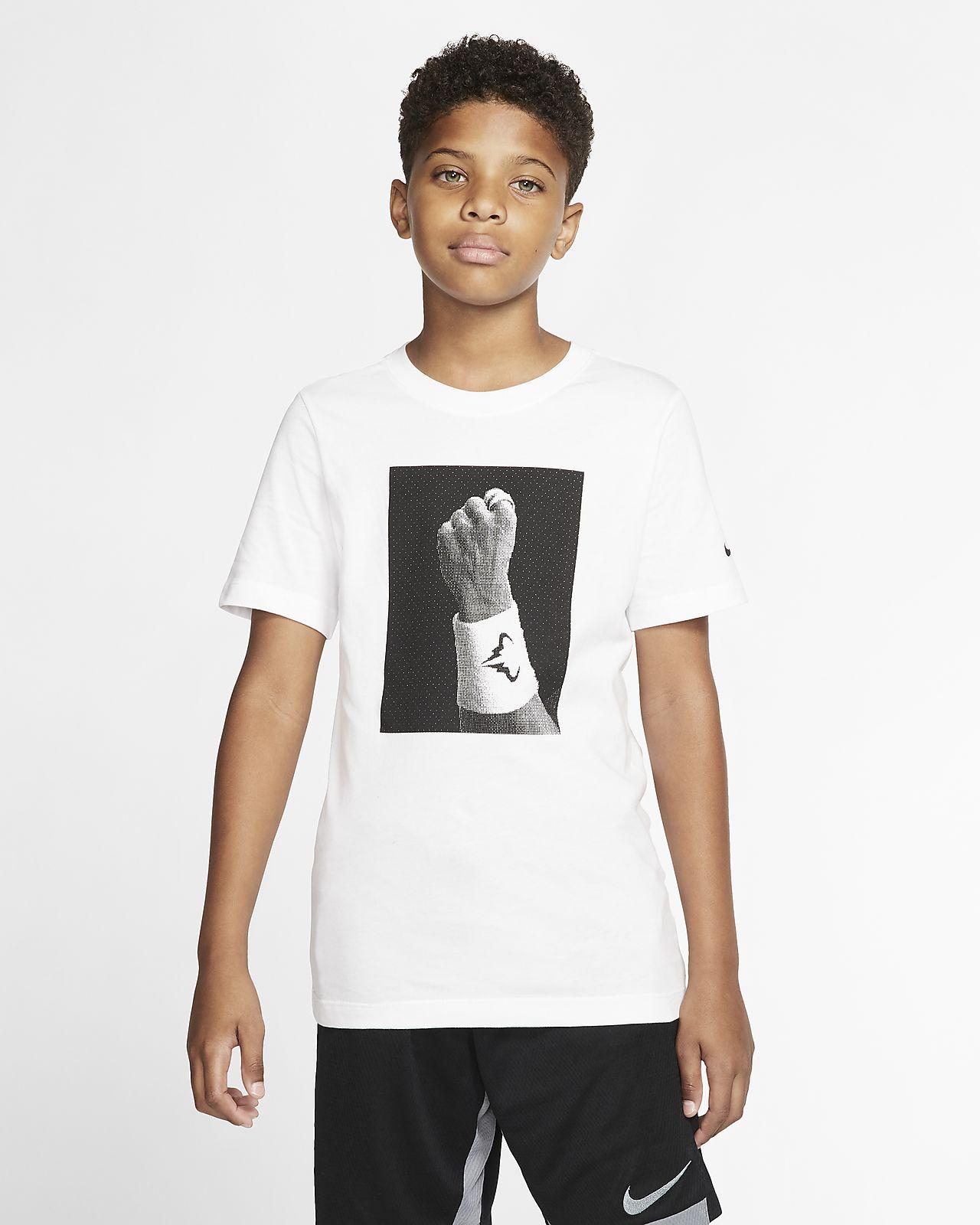 Rafa Camiseta de tenis con estampado- Niño