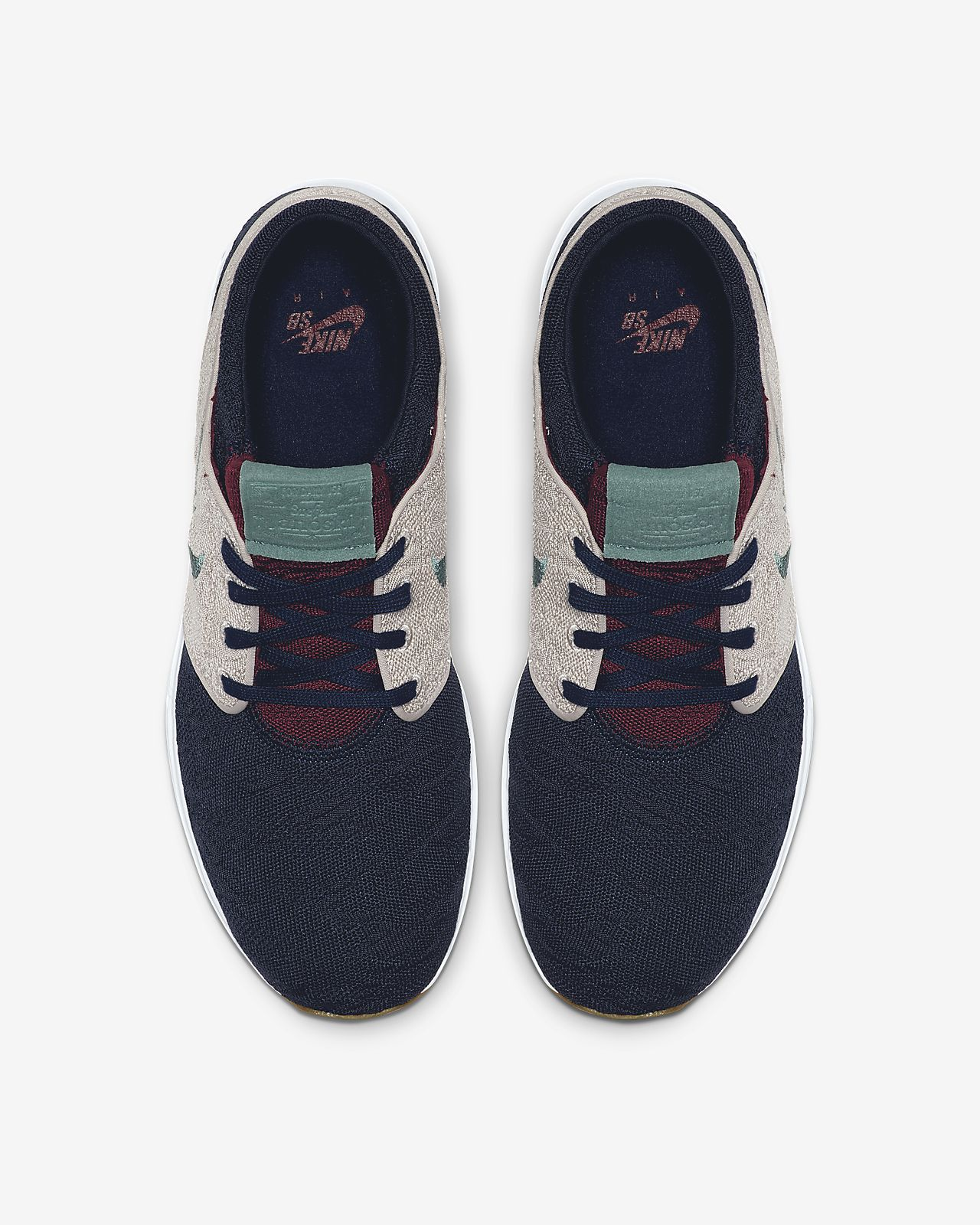 Nike SB Air Max Janoski 2 Shoes (obsidian bicostal)
