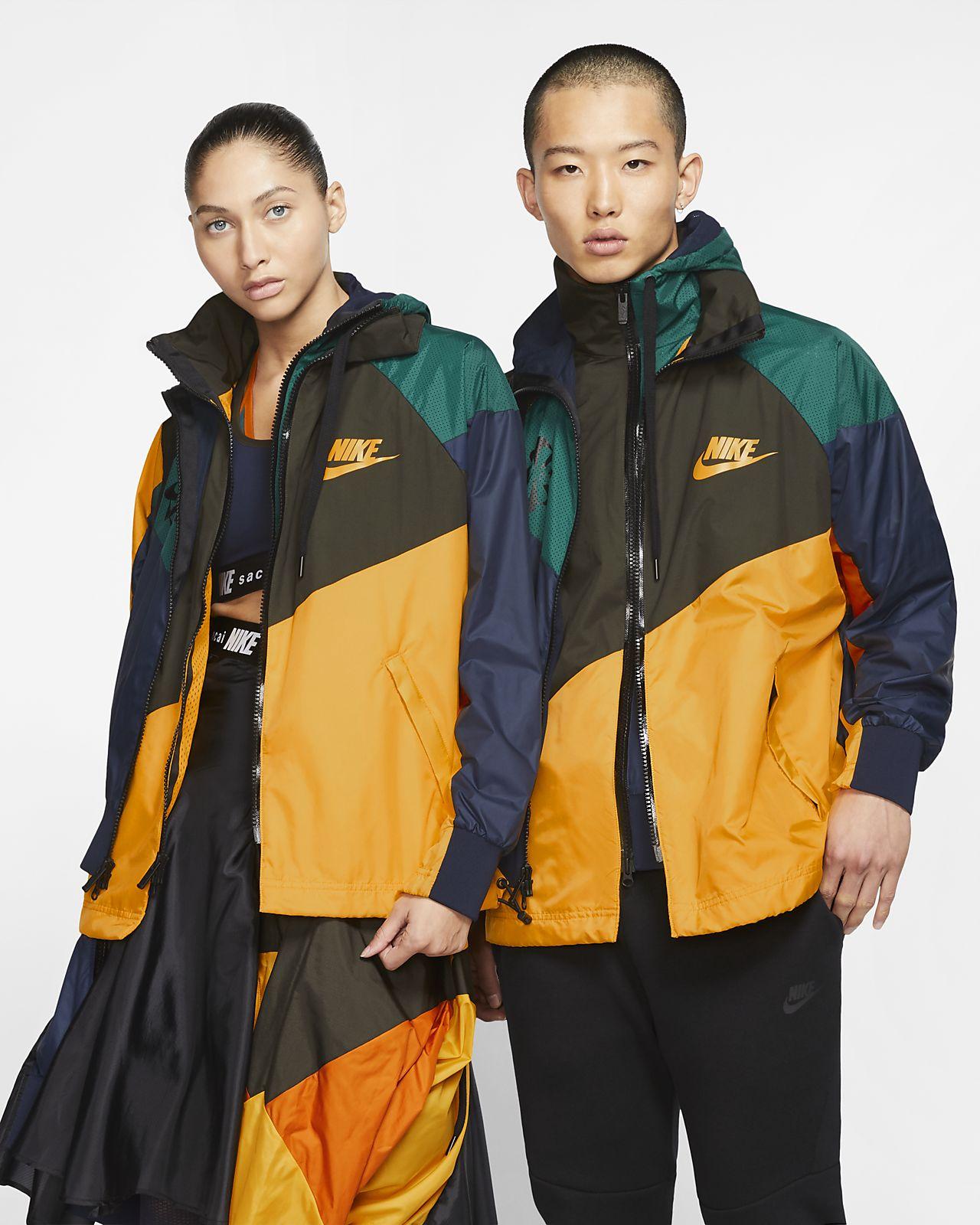 Nike x Sacai Anorak con capucha