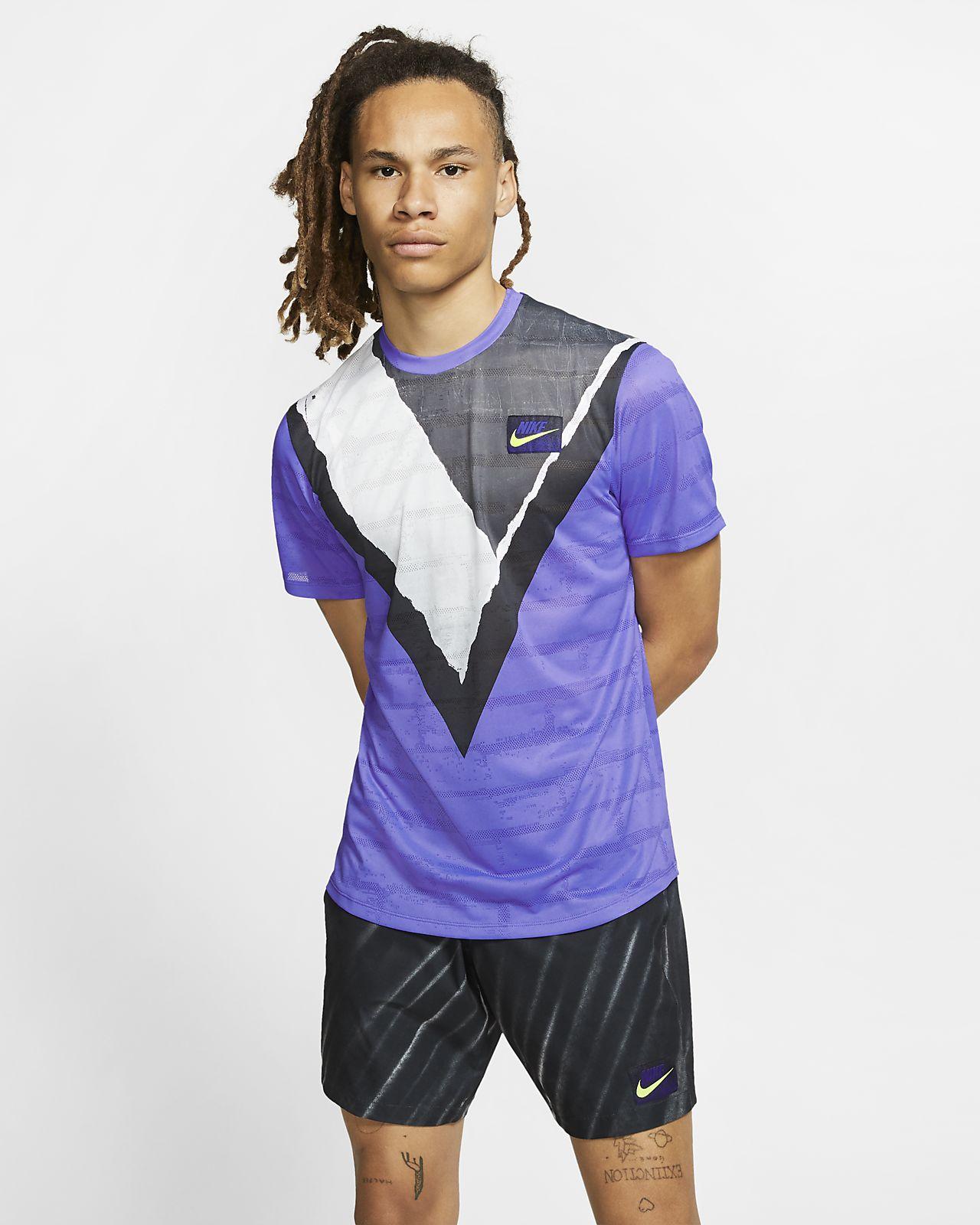 Haut de tennis à manches courtes NikeCourt Challenger pour Homme