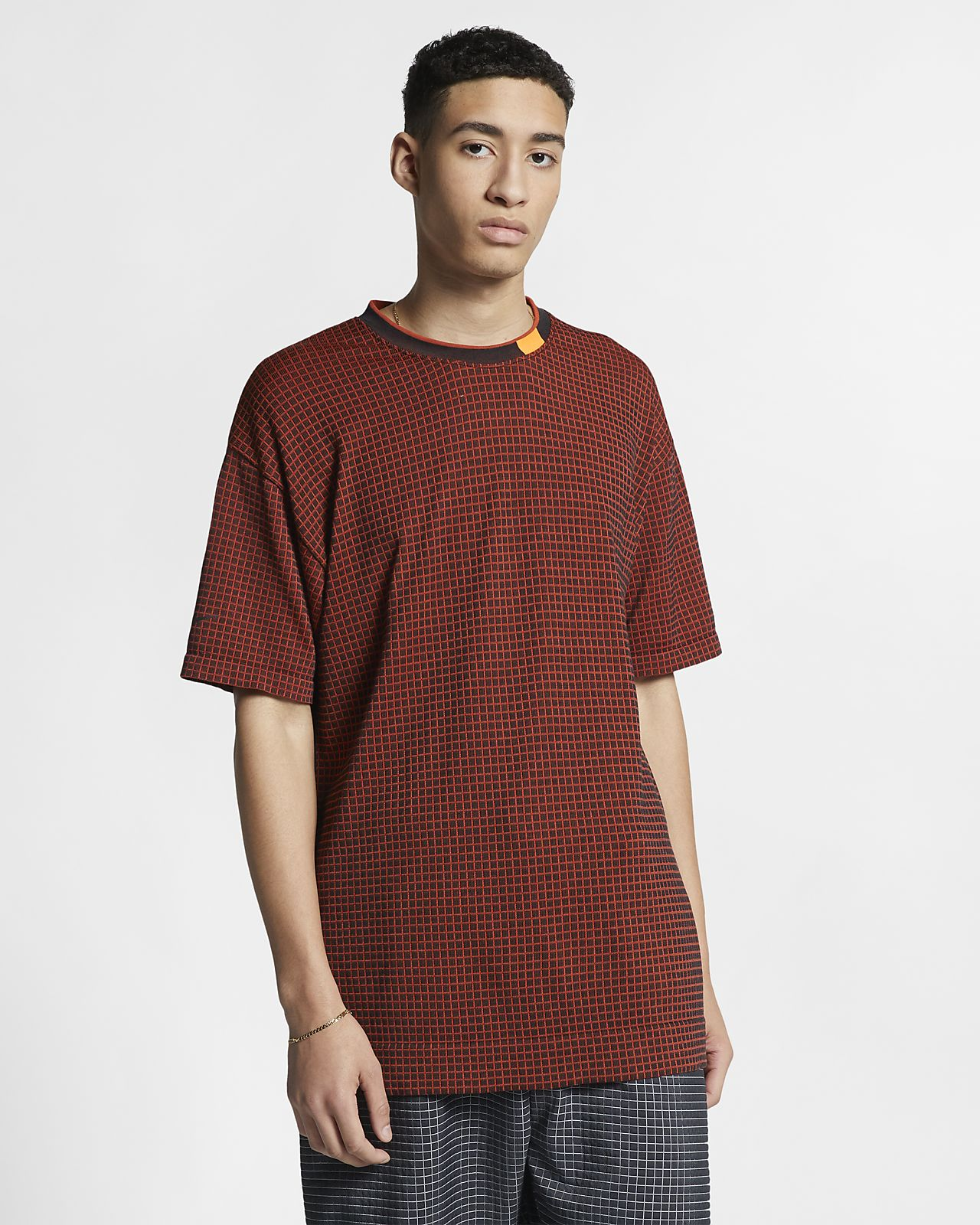 Kortärmad stickad tröja Nike Sportswear Tech Pack