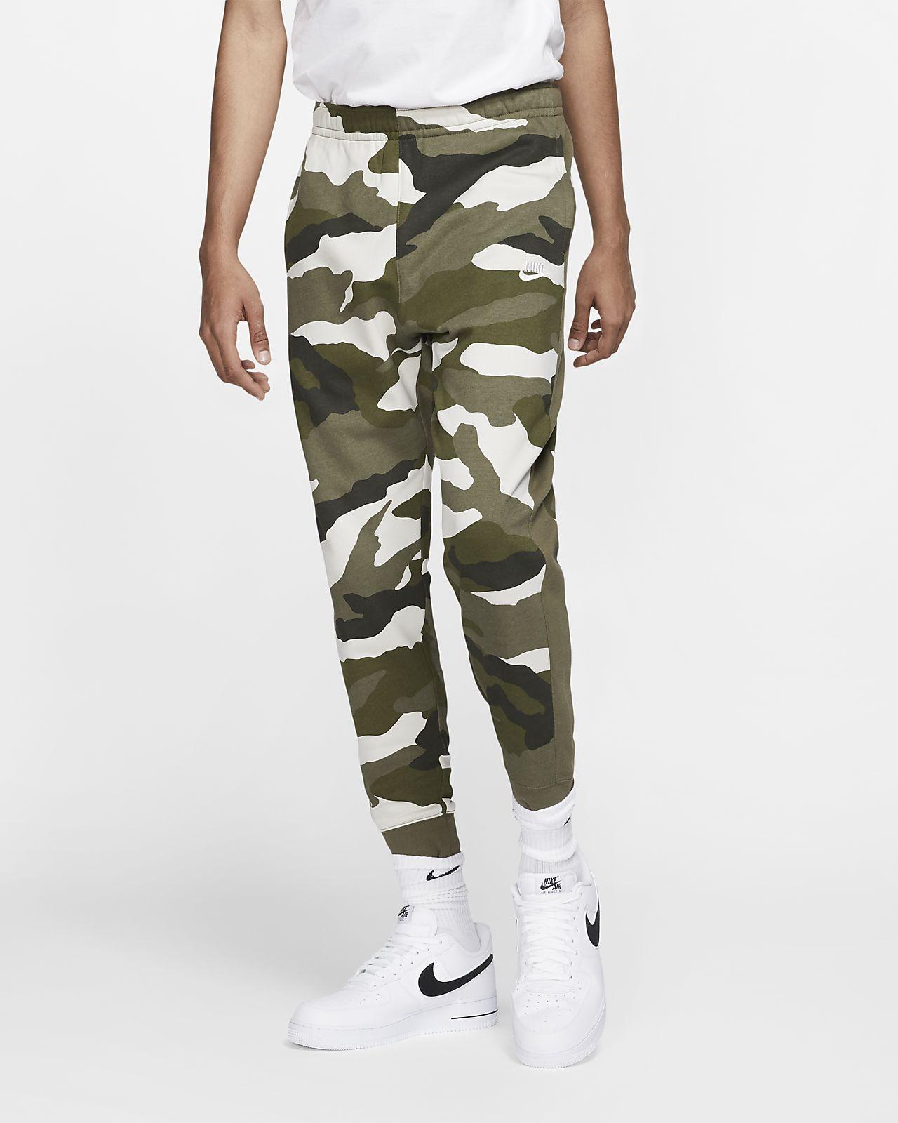 Мужские джоггеры из ткани френч терри с камуфляжным принтом Nike Sportswear Club