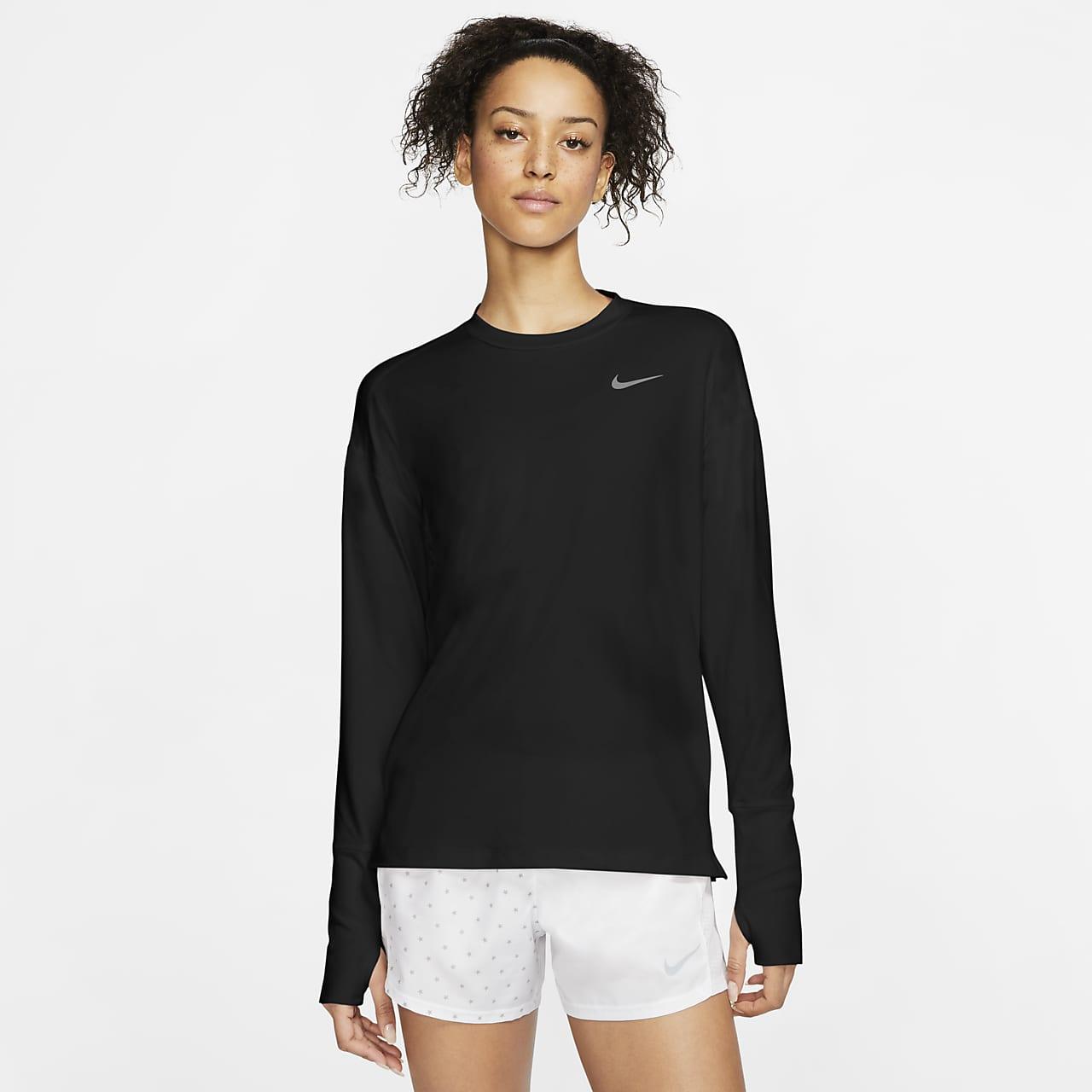 เสื้อวิ่งผู้หญิง Nike Element