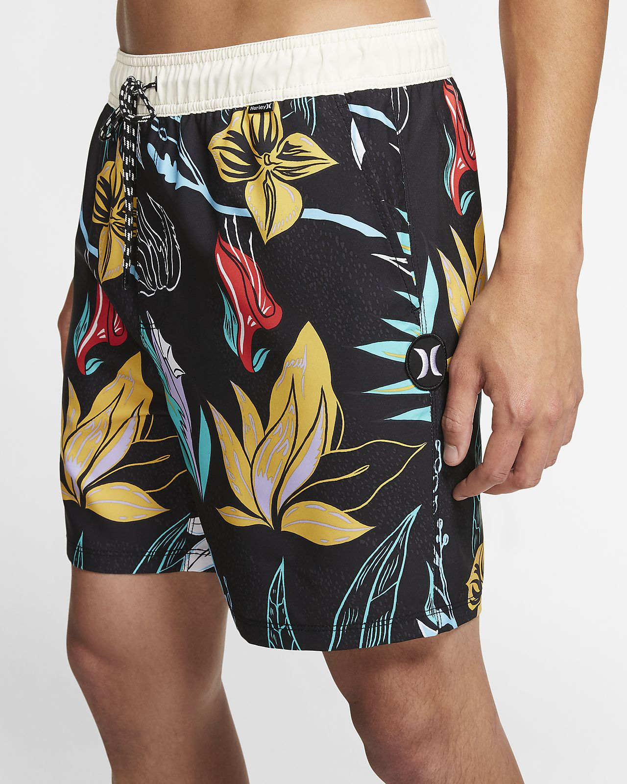 Hurley Domino Volley Boardshort de 43 cm - Home