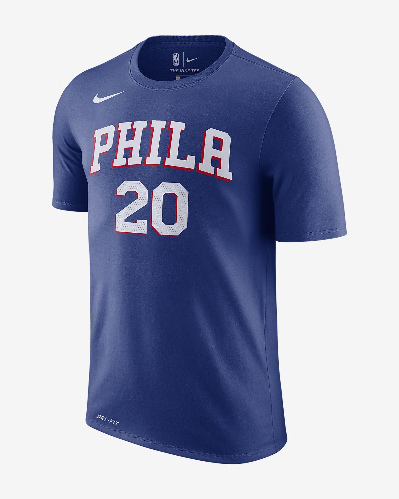 8f10ced89 Markelle Fultz Philadelphia 76ers Nike Dri-FIT Men s NBA T-Shirt ...