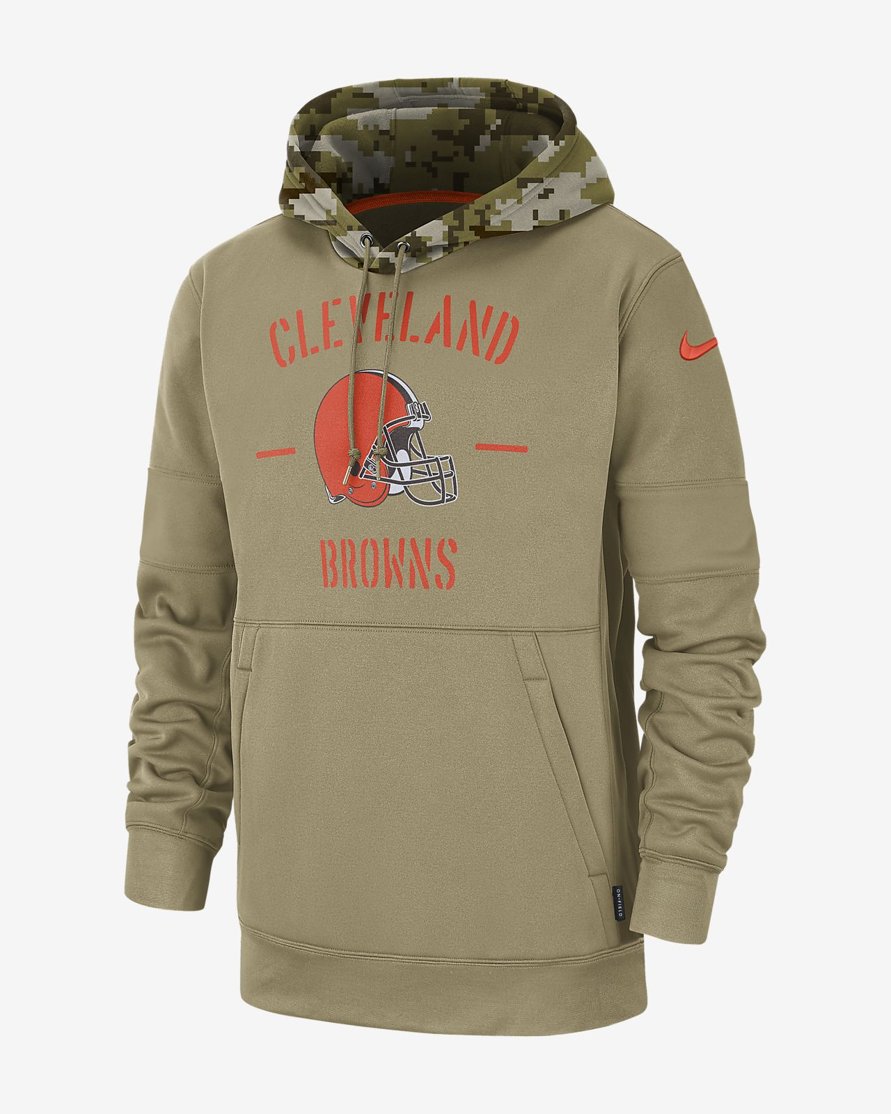 Nike Therma Salute to Service (NFL Browns) Men's Hoodie