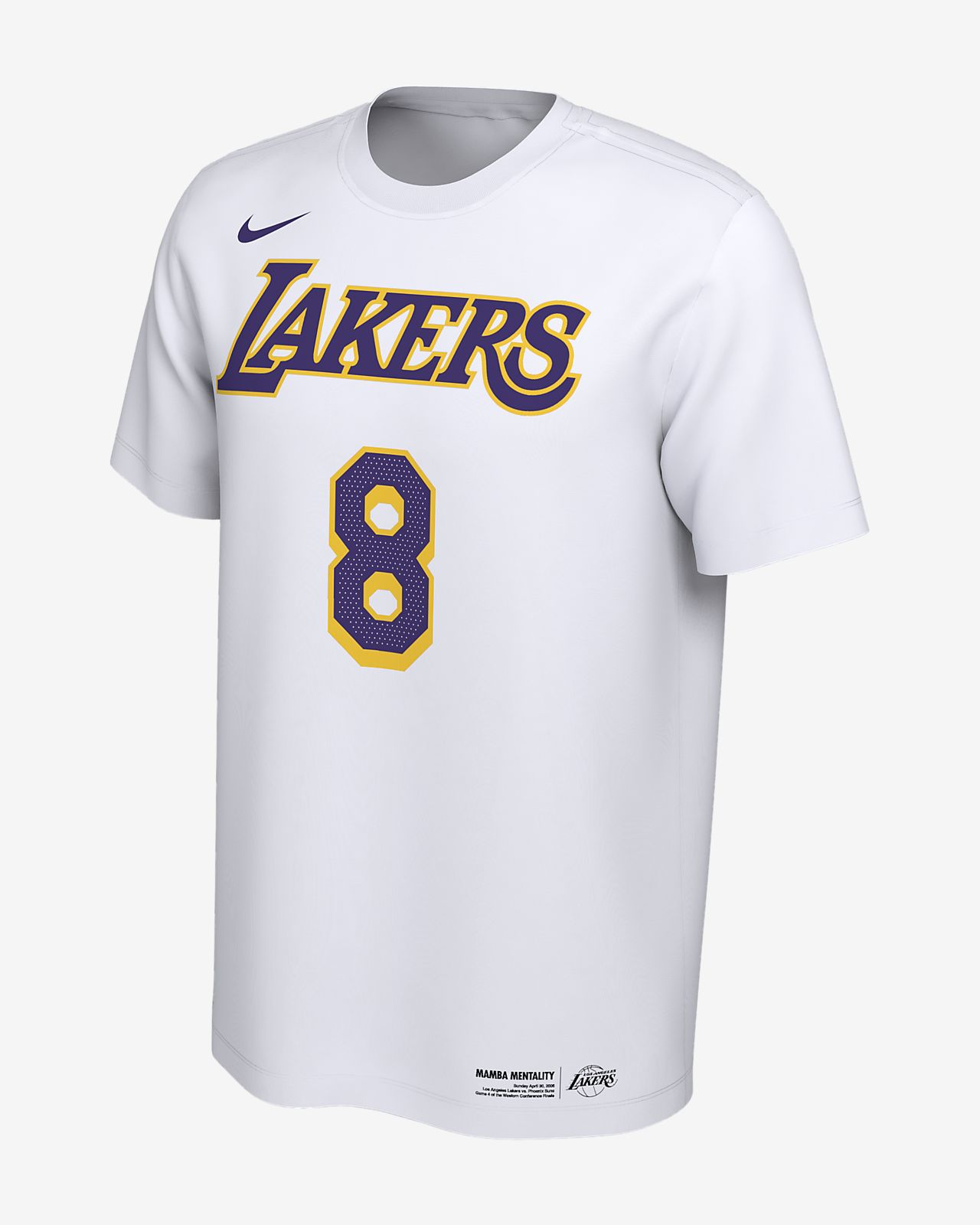 07e278fe4b8d Kobe Bryant Los Angeles Lakers Nike Dri-FIT Men s NBA T-Shirt. Nike.com