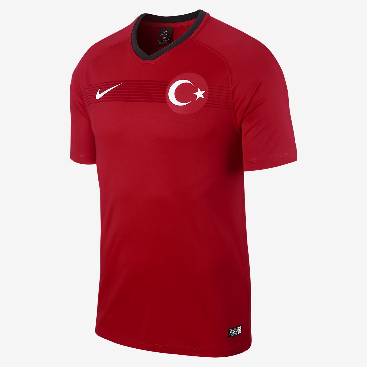 Camiseta de fútbol para hombre 2018 Turkey Stadium Home