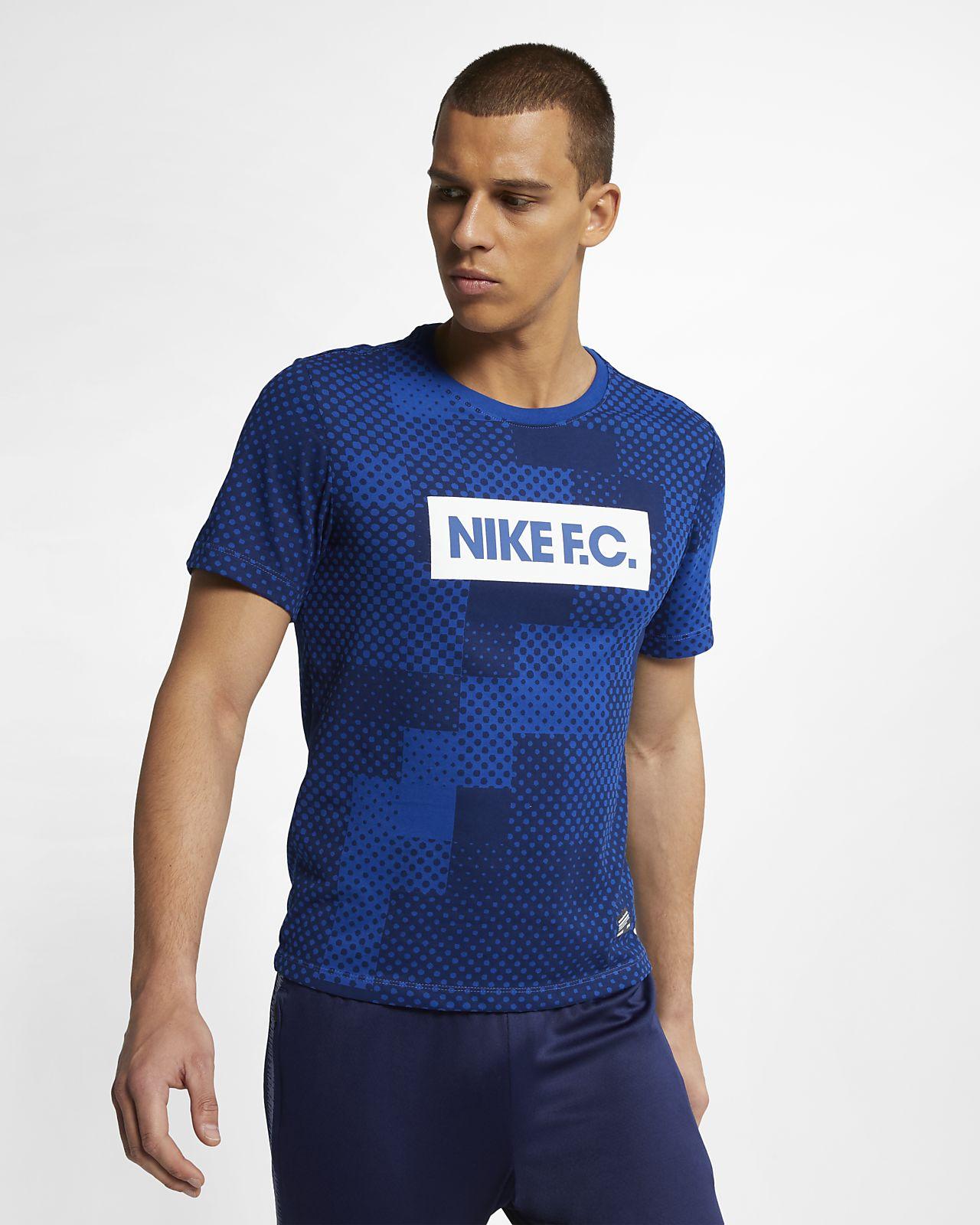 เสื้อยืดฟุตบอลผู้ชาย Nike Dri-FIT F.C.