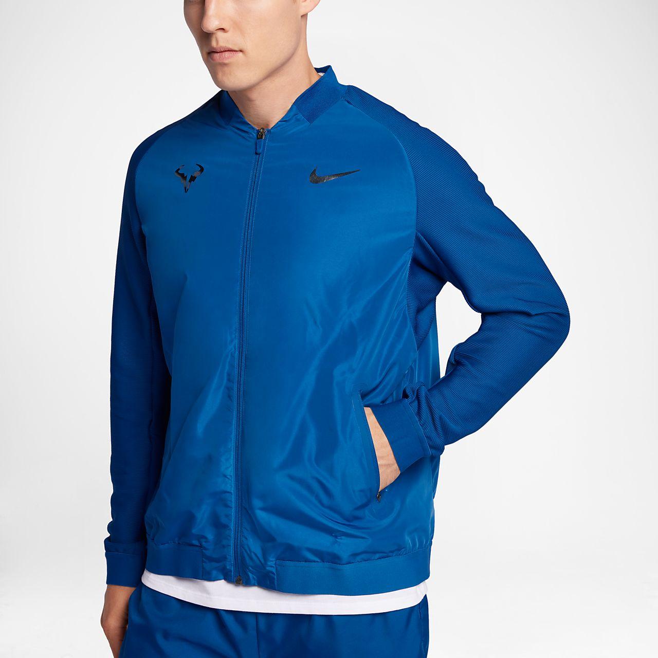NikeCourt Rafa Erkek Tenis Ceketi