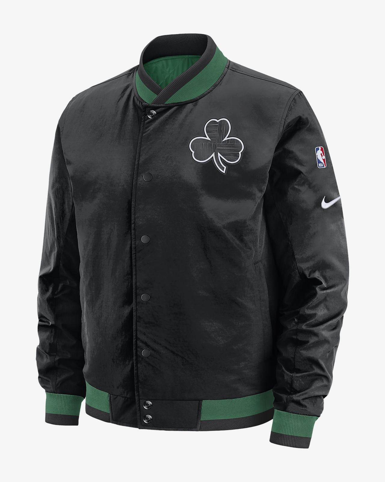 Boston Celtics Courtside Men's Nike NBA Reversible Jacket