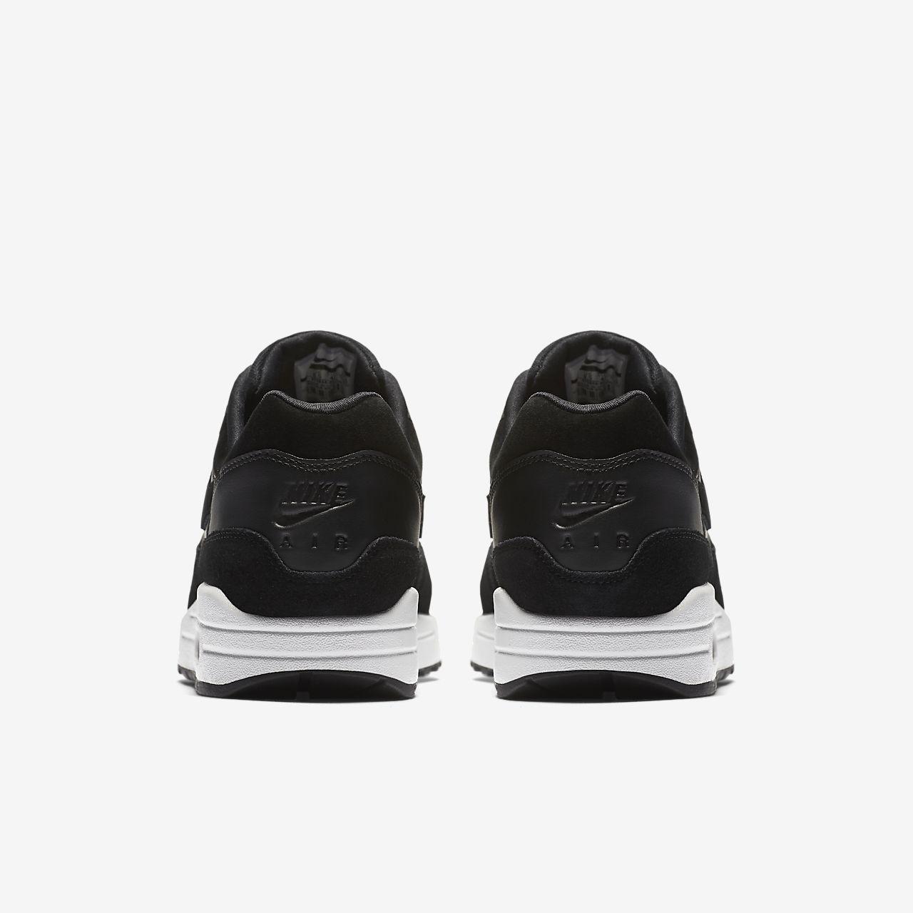 nike air max shoes white and black. nike air max 1 premium men\u0027s shoe shoes white and black