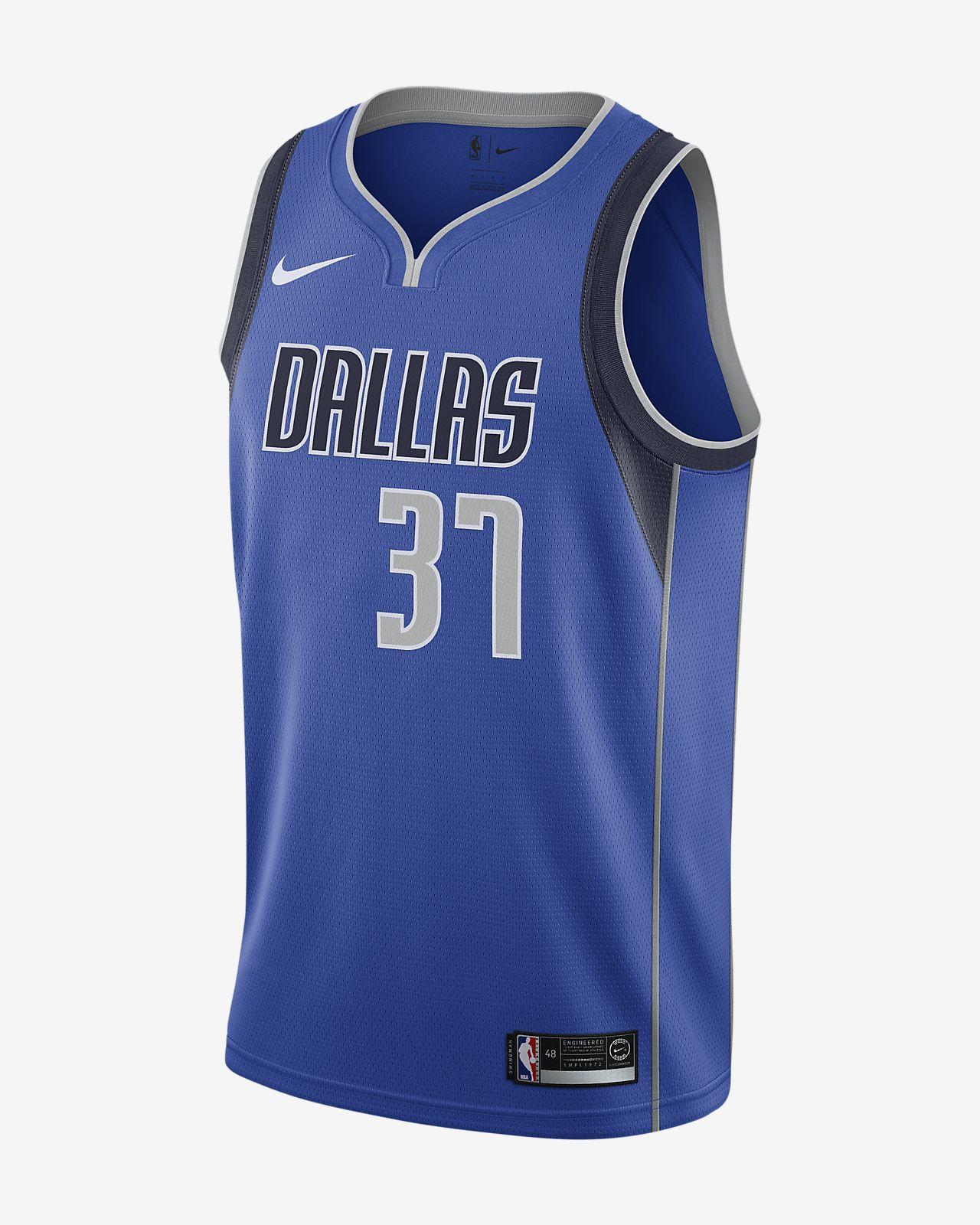 Camiseta conectada Nike NBA para hombre Kostas Antetokounmpo Icon Edition Swingman (Dallas Mavericks)