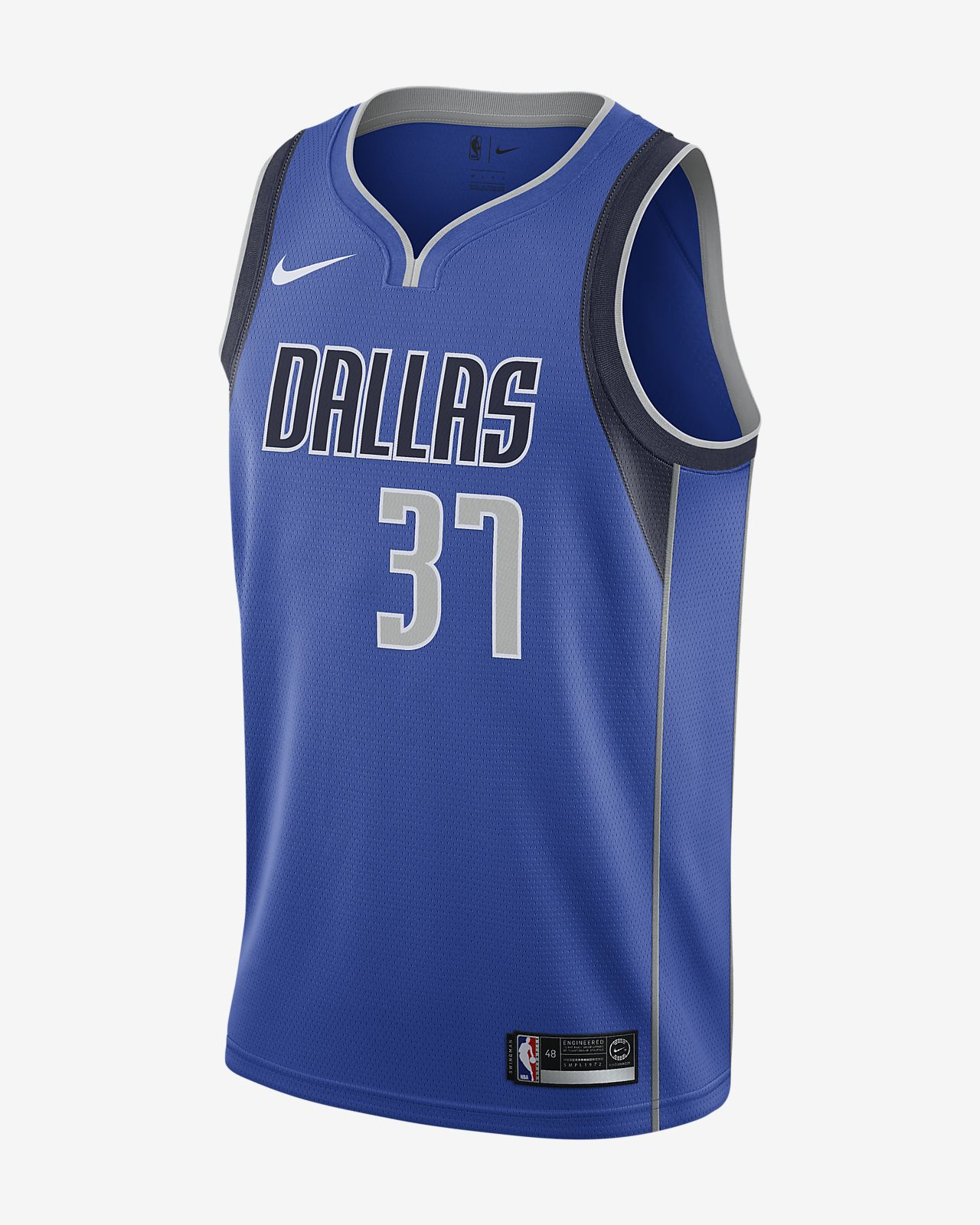 Maglia Nike NBA Connected Kostas Antetokounmpo Icon Edition Swingman (Dallas Mavericks) - Uomo