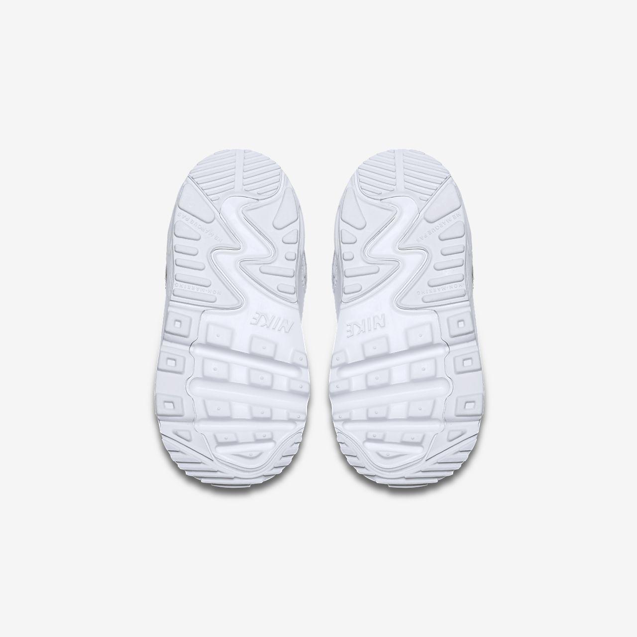 Nike Air Max 90 Leather para niños BlancoBlanco