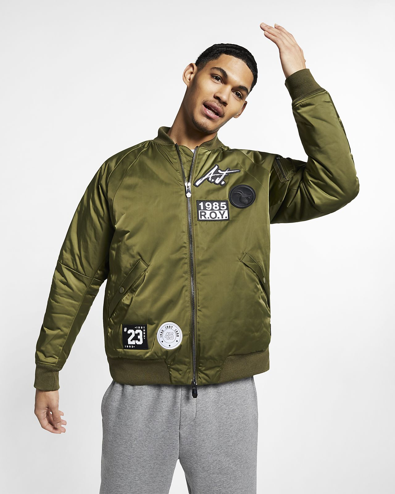 54037ae8927c Jordan Sportswear Greatest J-1 Men s Jacket. Nike.com