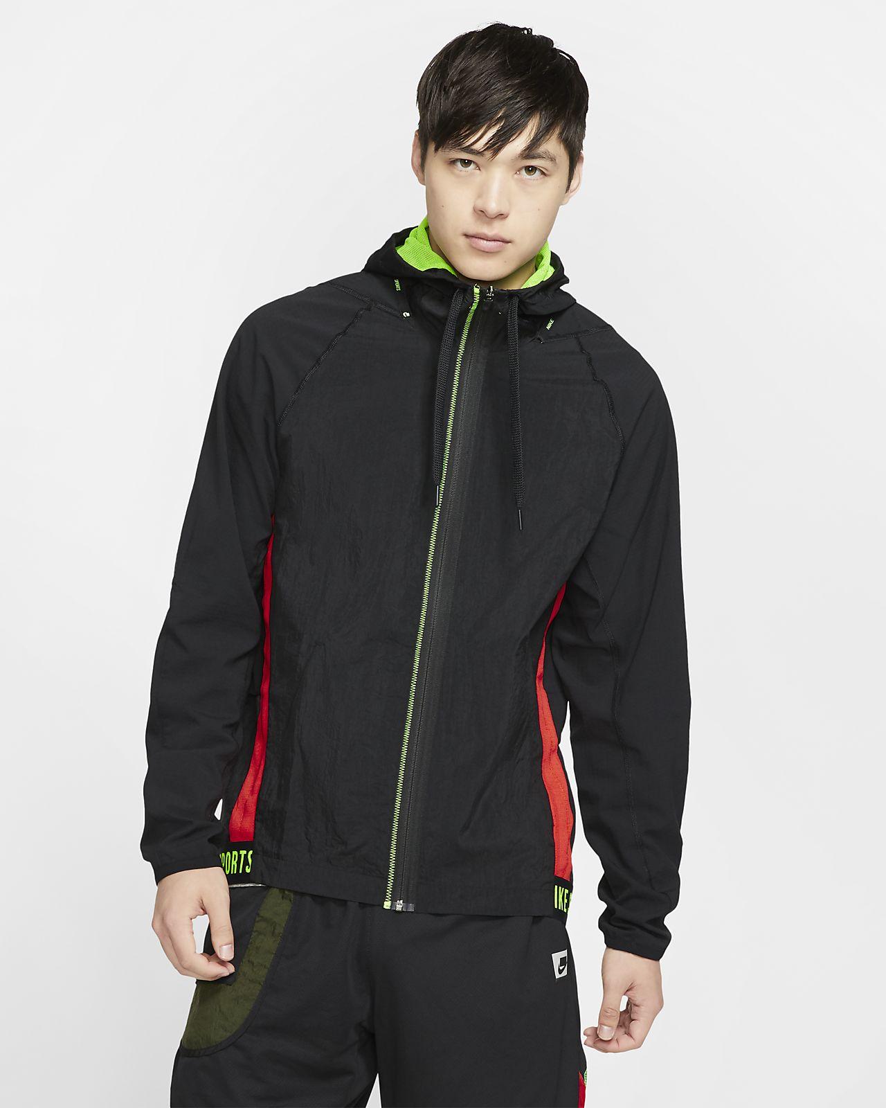 Träningsjacka med hel dragkedja Nike Flex Sport Clash för män