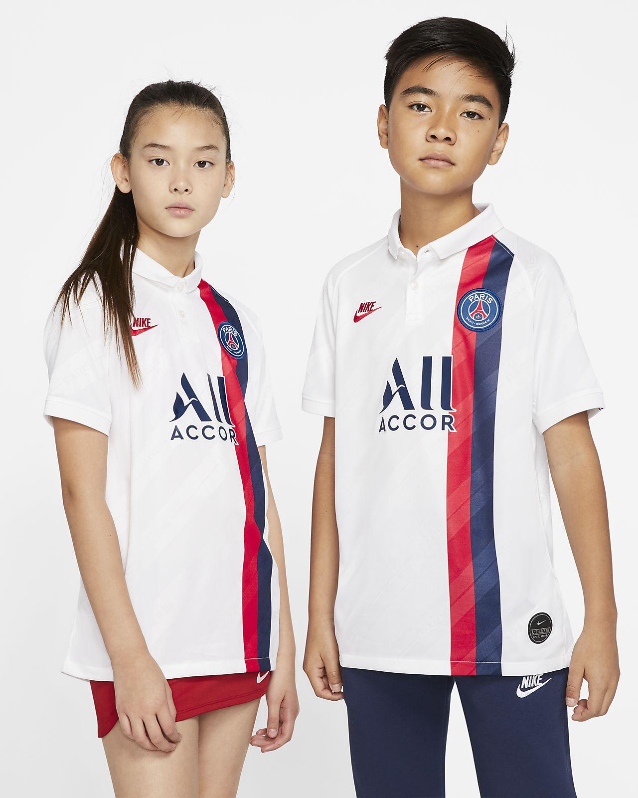 brand new 3beec 0988f Paris Saint-Germain 2019/20 Stadium Third Big Kids' Soccer Jersey