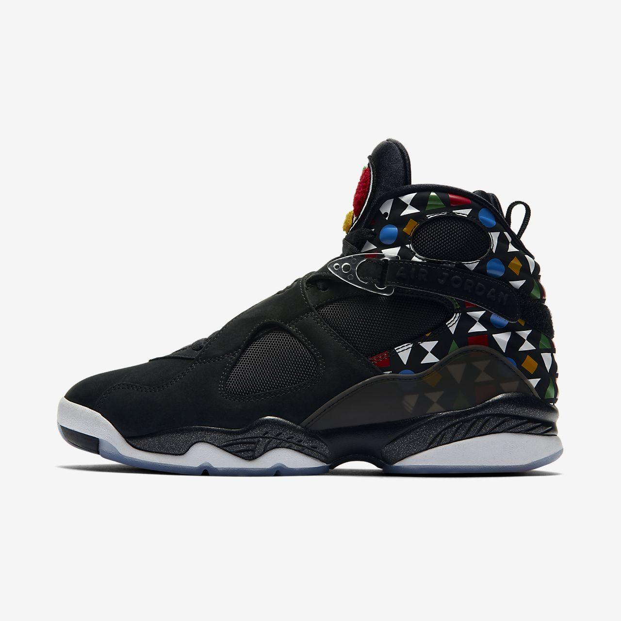 Air Jordan 8 Retro Q54 Men's Shoe